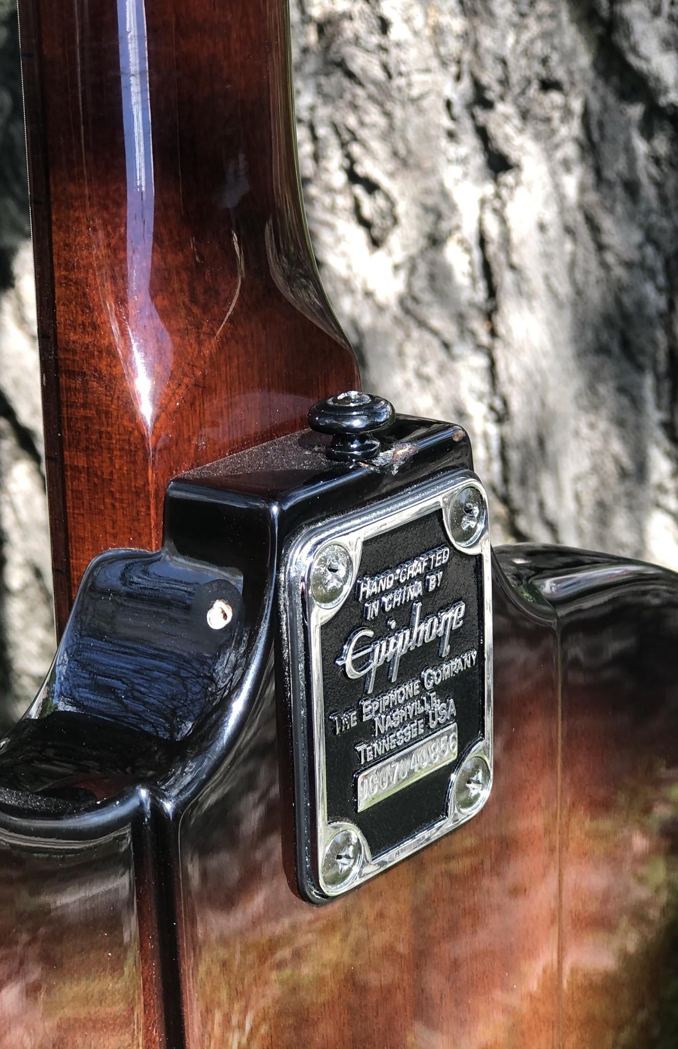 "Epiphone Thunderbird Bass ""The Pecker"" w/ EMG pickups-9"