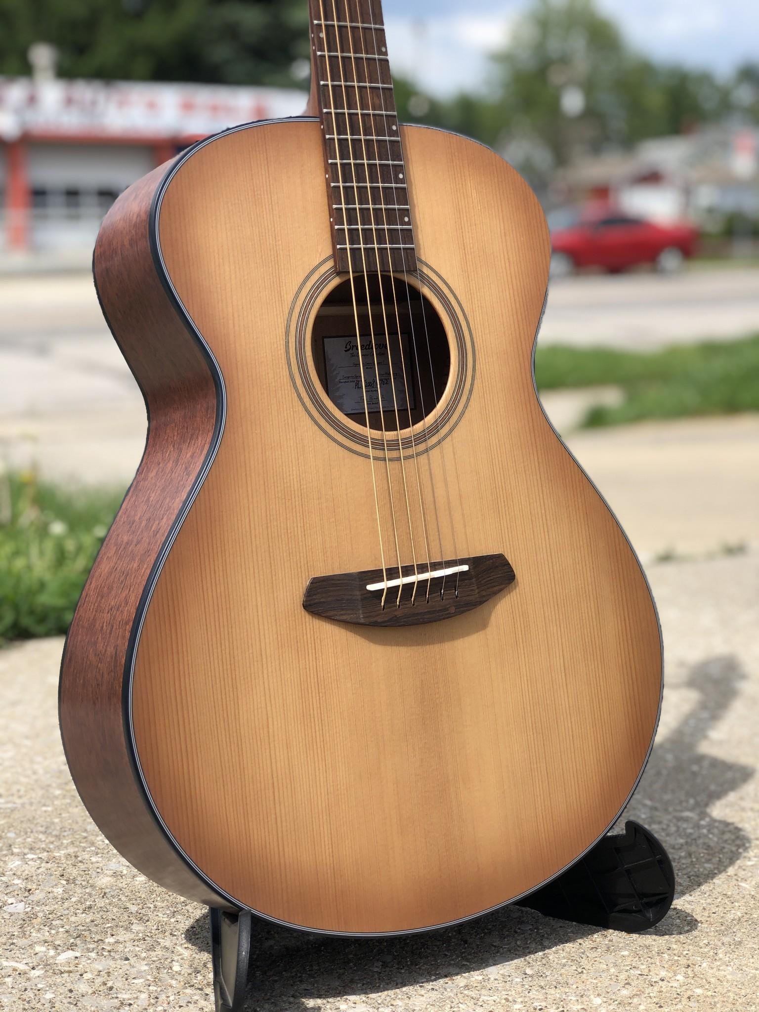 Breedlove Guitars Signature Concert Copper E Acoustic Electric-2