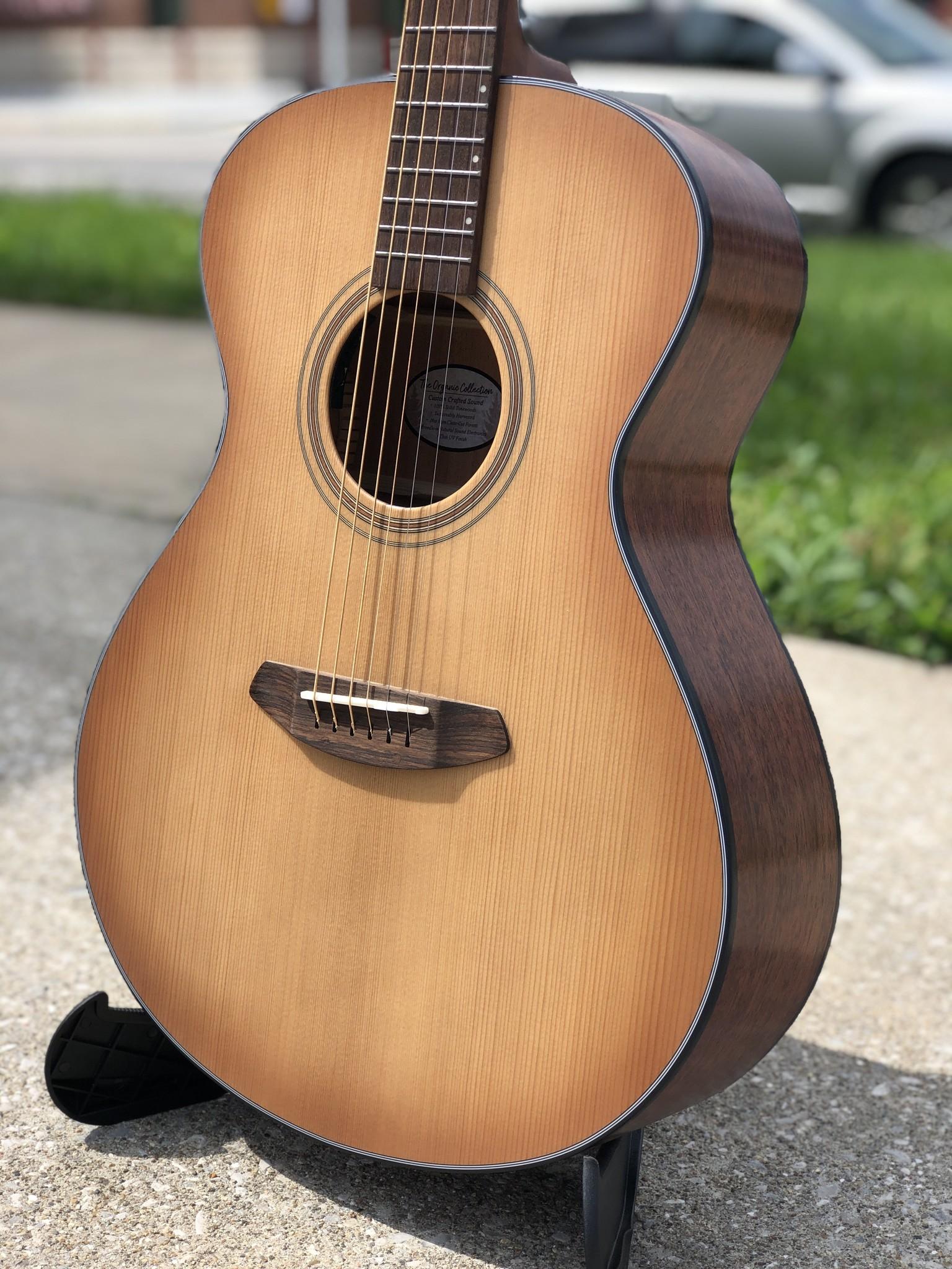 Breedlove Guitars Signature Concert Copper E Acoustic Electric-4