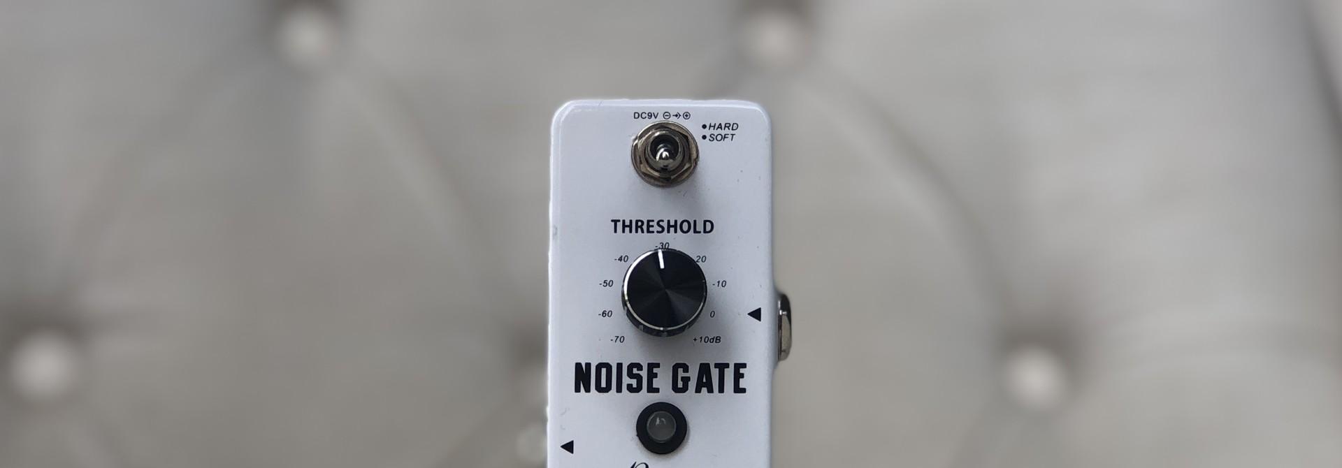 Rowin True Bypass Noise Gate