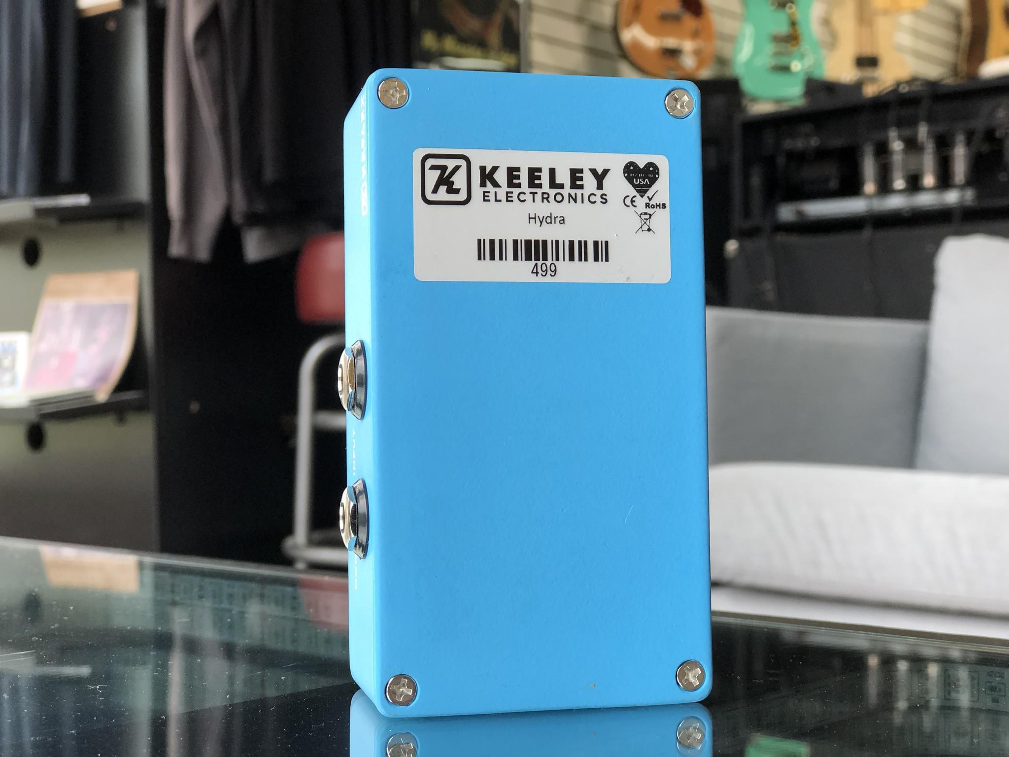 Keeley Hydra Stereo Reverb & Tremolo-3