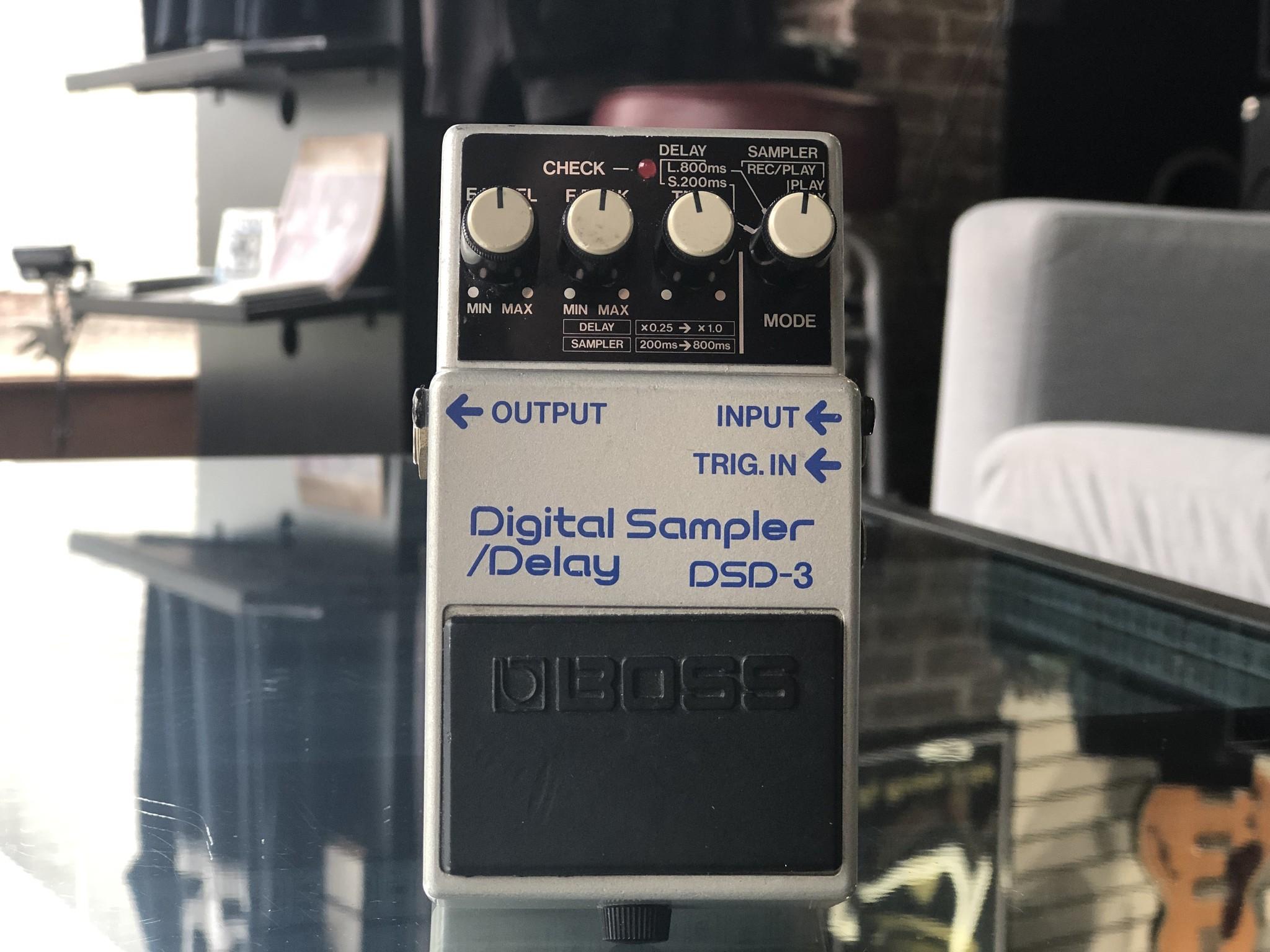 Boss DSD-3 Digital Sampler Delay Made in Japan-1