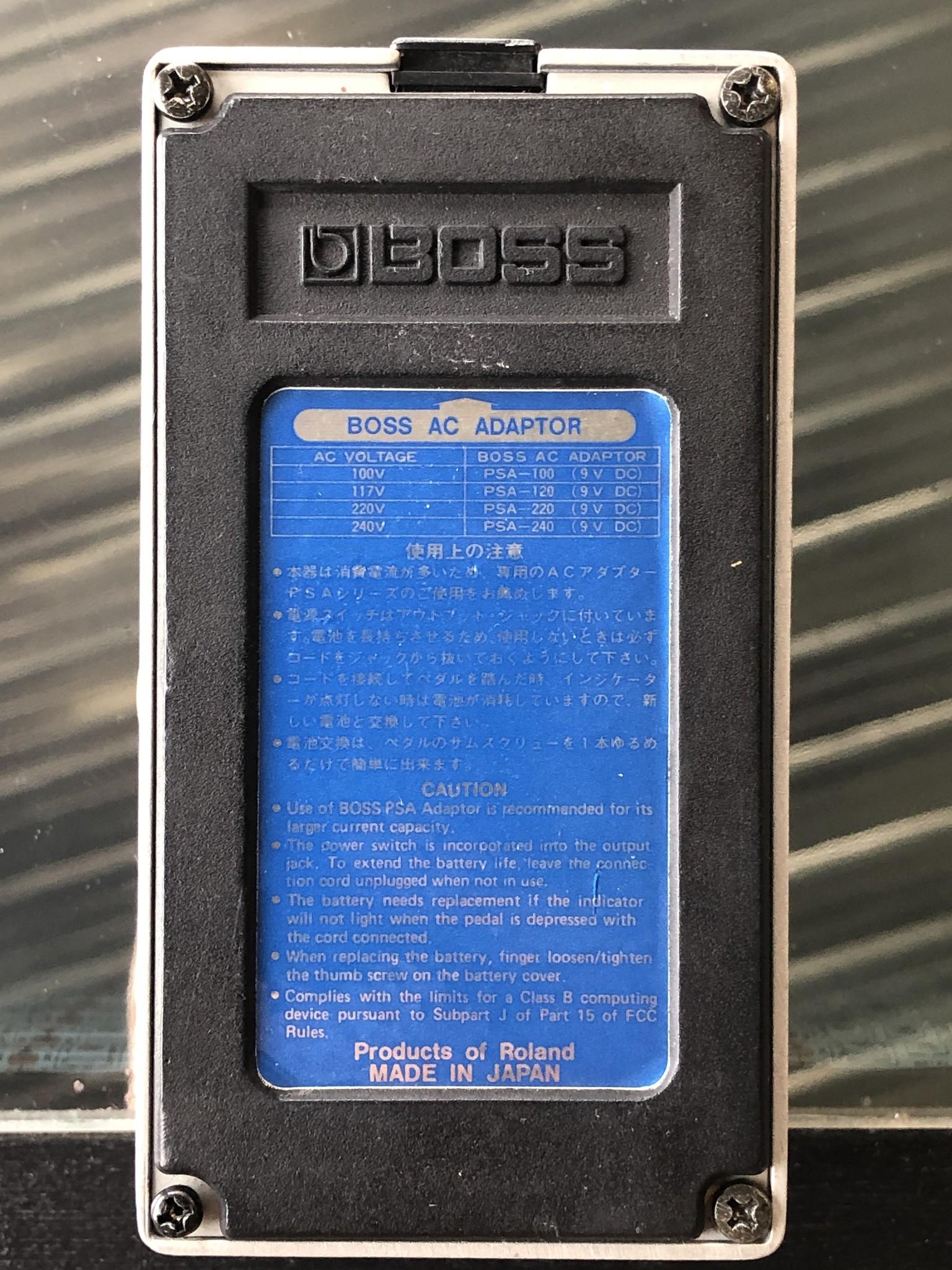 Boss DSD-3 Digital Sampler Delay Made in Japan-3