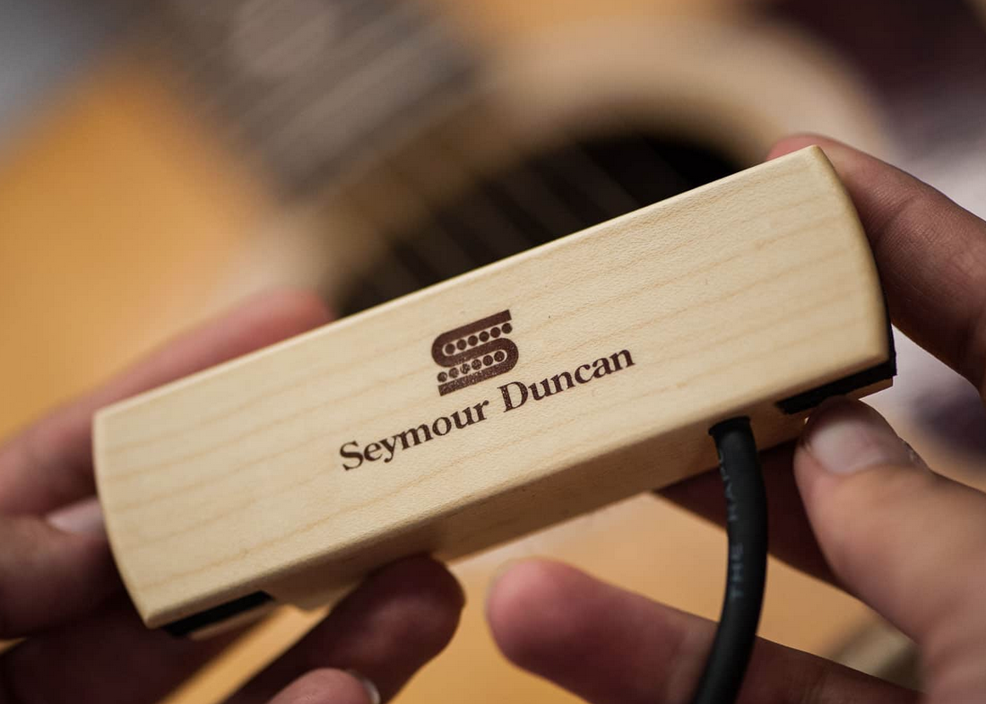 Seymour Duncan Woody HC Hum Cancelling Stack Acoustic Soundhole Pickup-1