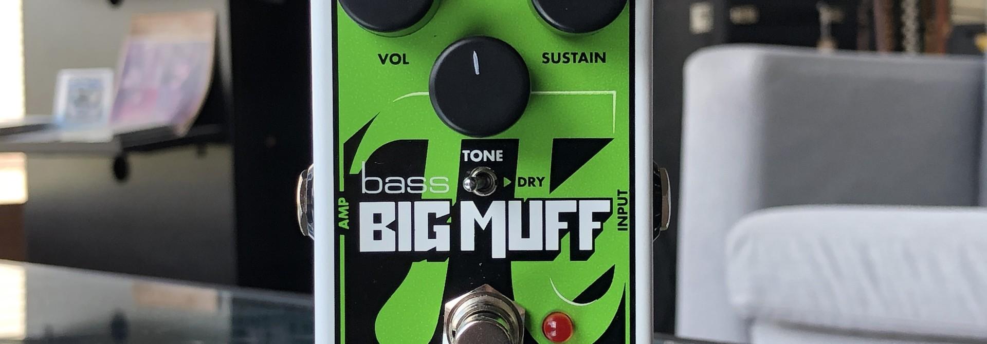 EHX Bass Big Muff Nano