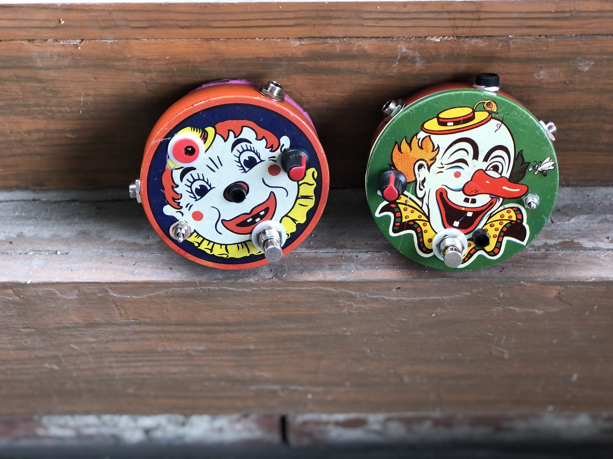 Rick Crownover 2-stage Round Face Clown Fuzz-2