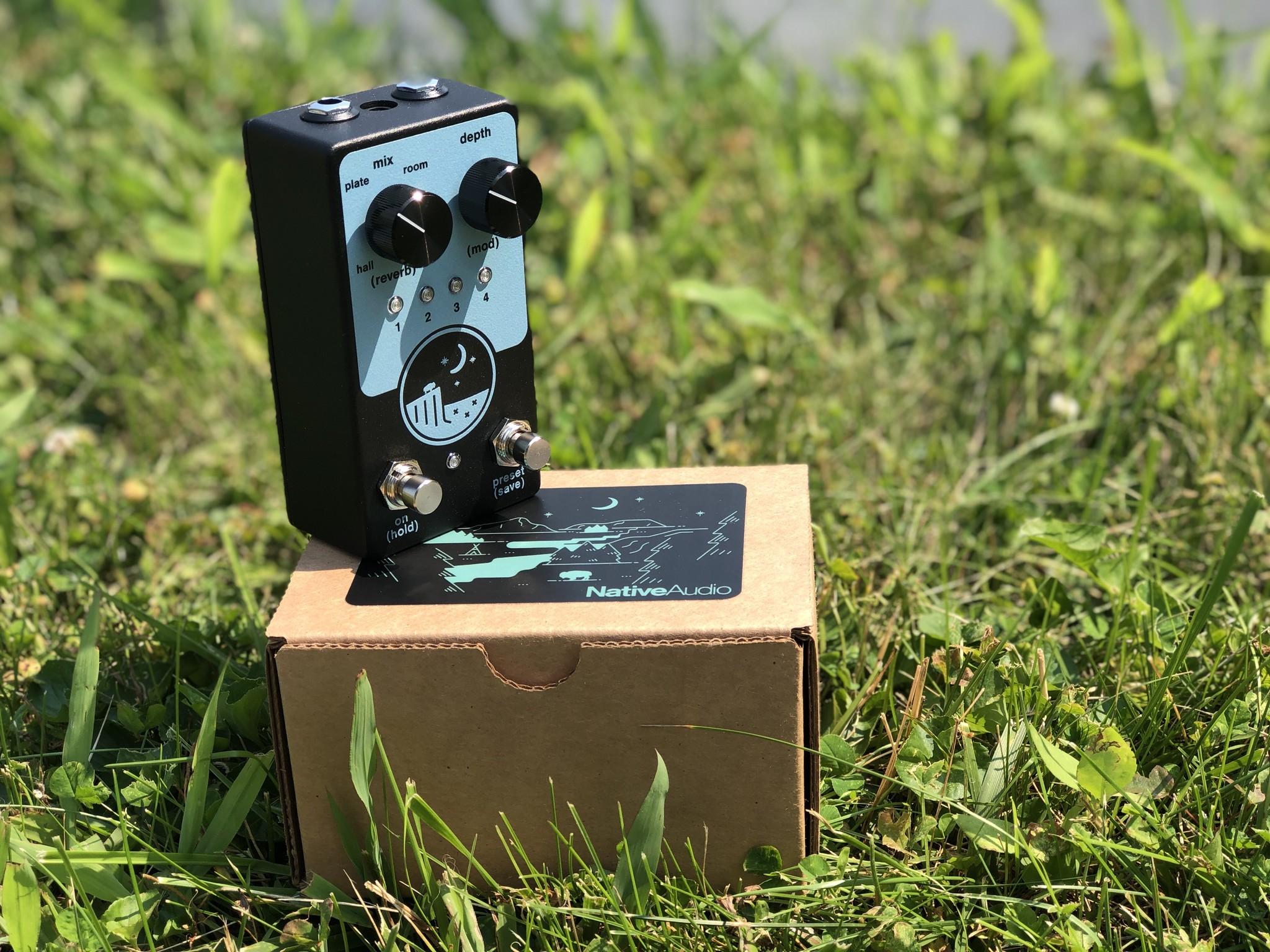 Native Audio Ghost Ridge Reverb Spring Blue-3