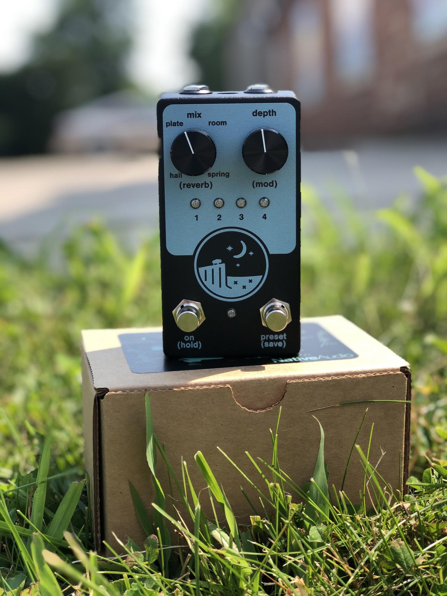 Native Audio Ghost Ridge Reverb Spring Blue-1