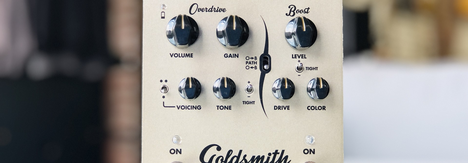 Egnater Goldsmith Overdrive Boost