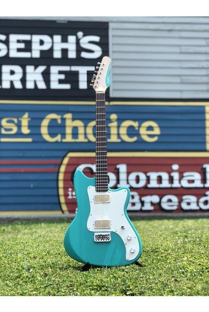 Bula Custom Guitars - Astro - Satin Sea Green