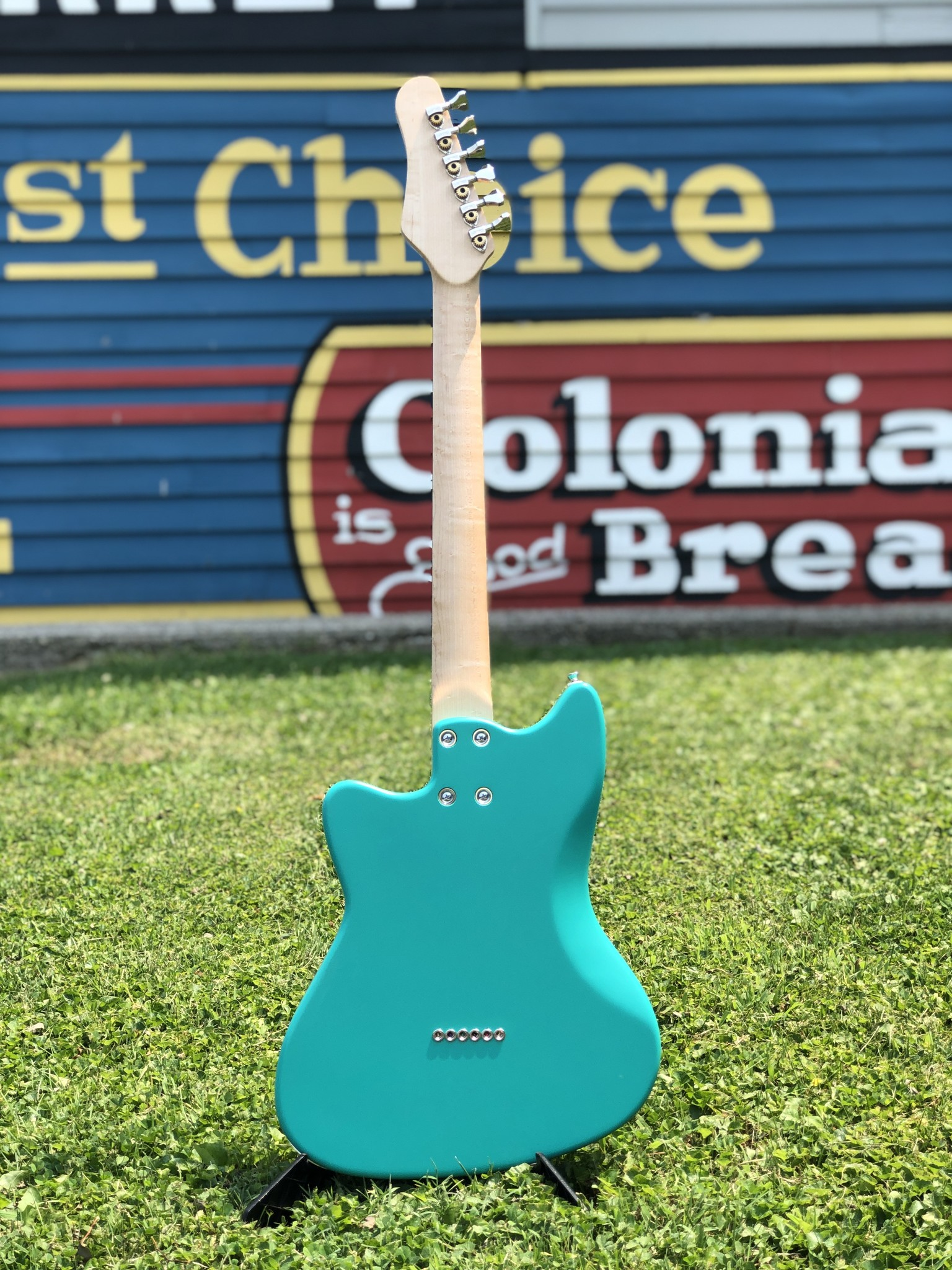 Bula Custom Guitars - Astro - Satin Sea Green-11