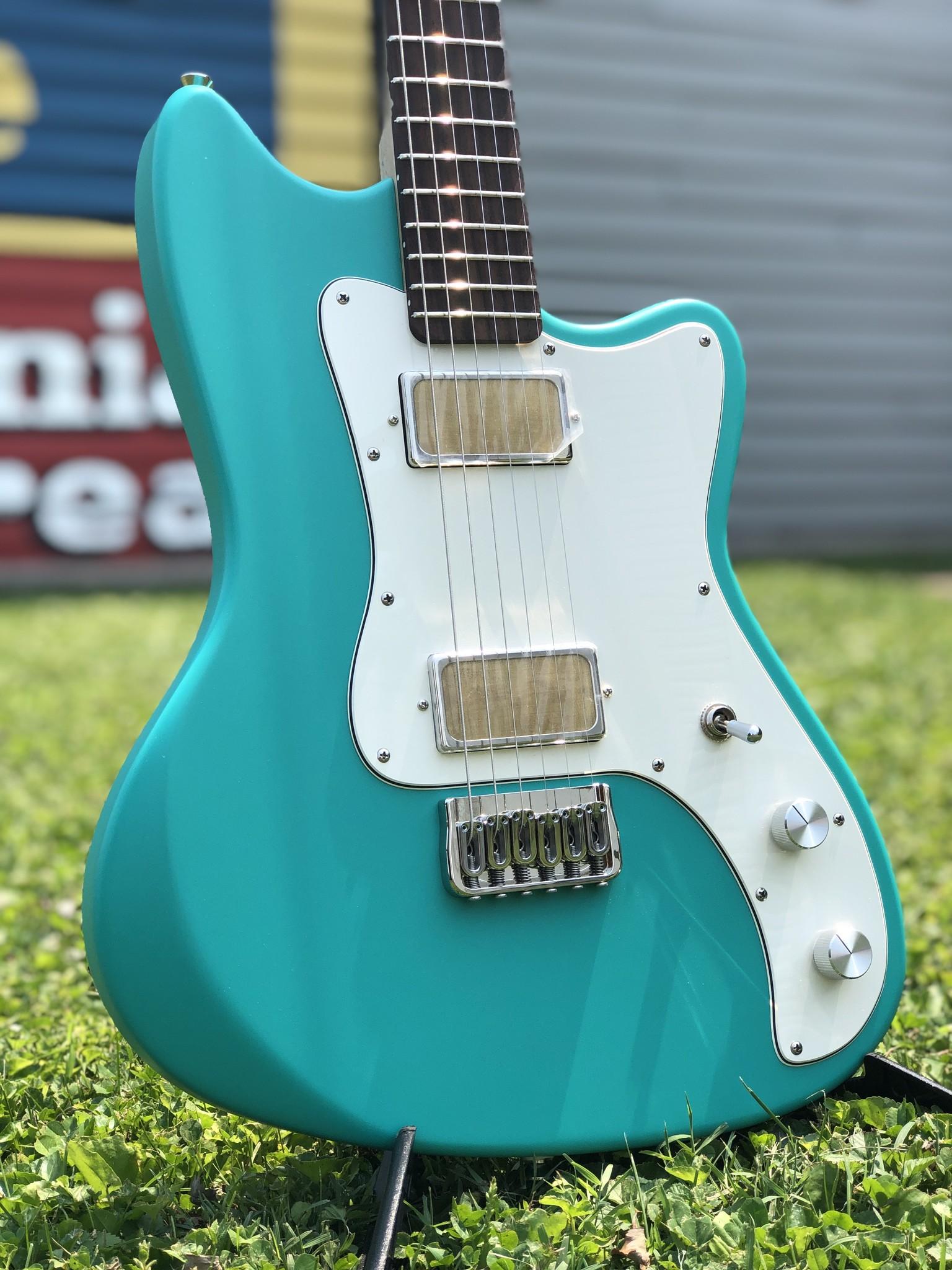 Bula Custom Guitars - Astro - Satin Sea Green-2