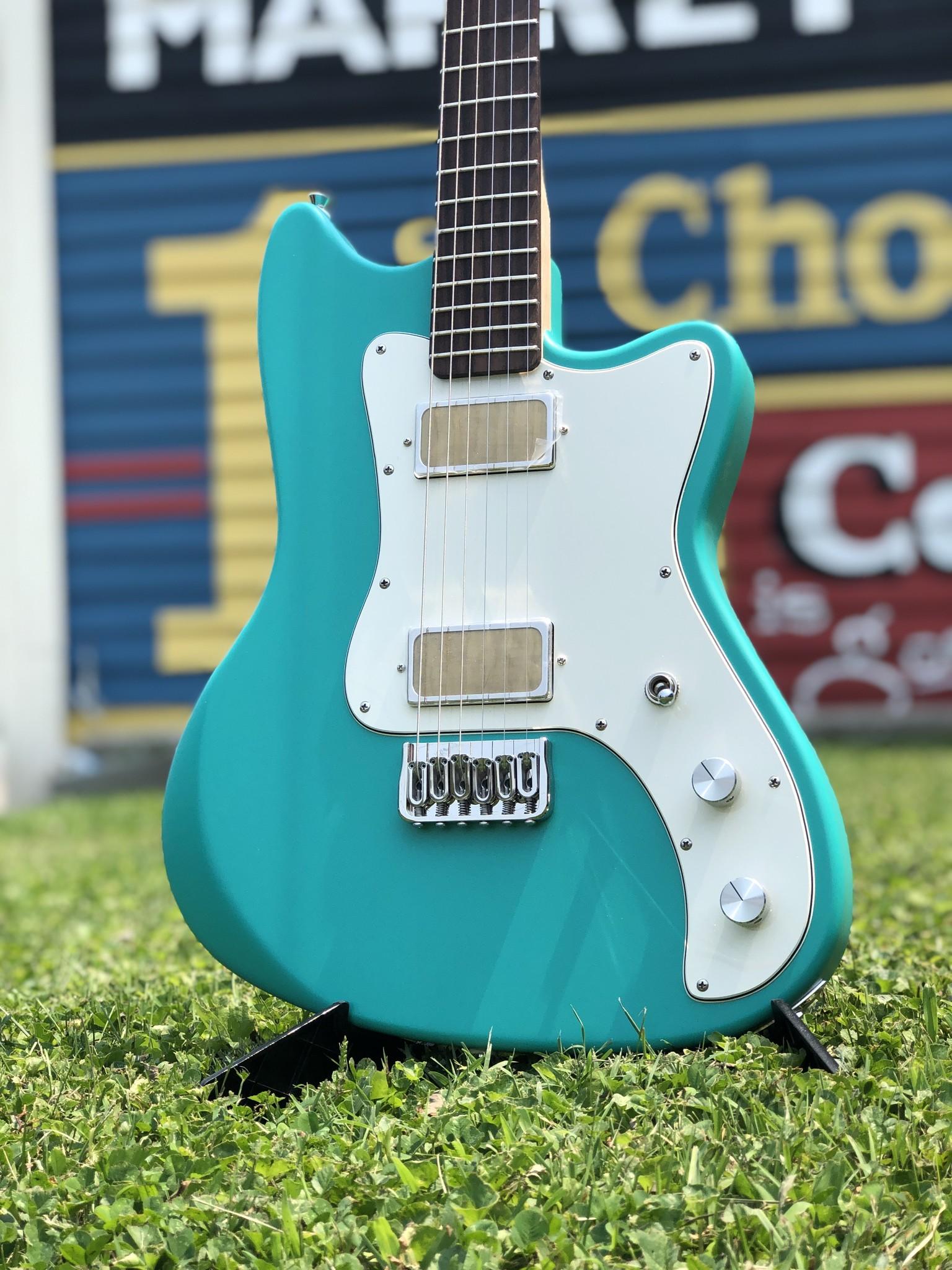 Bula Custom Guitars - Astro - Satin Sea Green-4