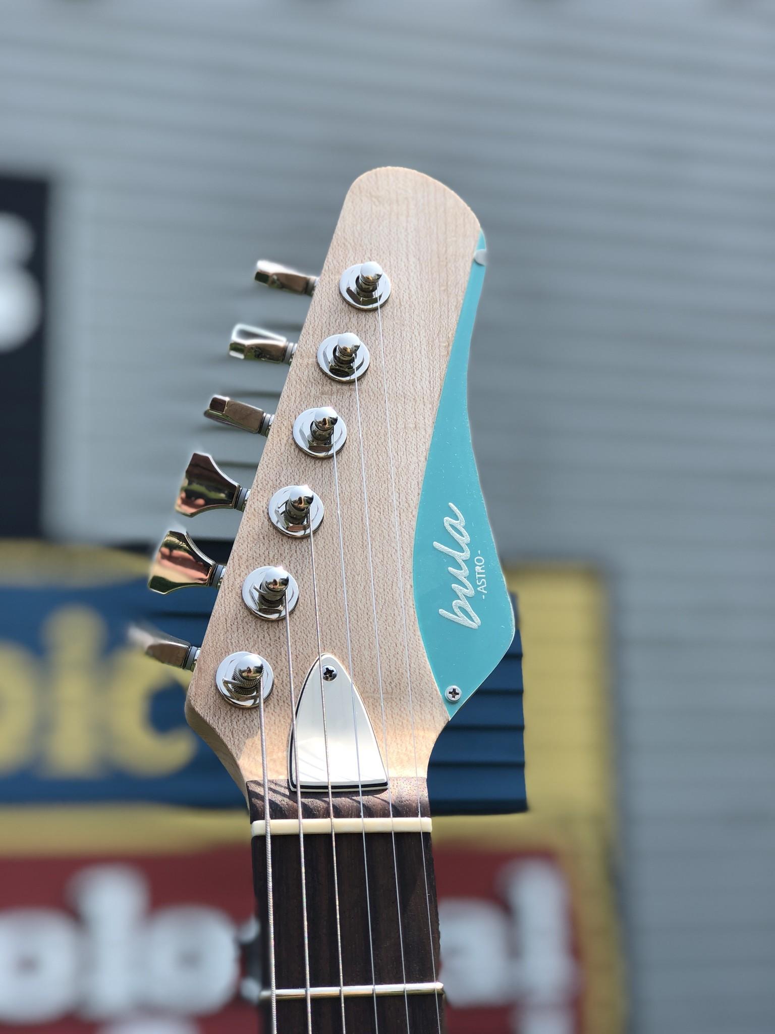 Bula Custom Guitars - Astro - Satin Sea Green-7