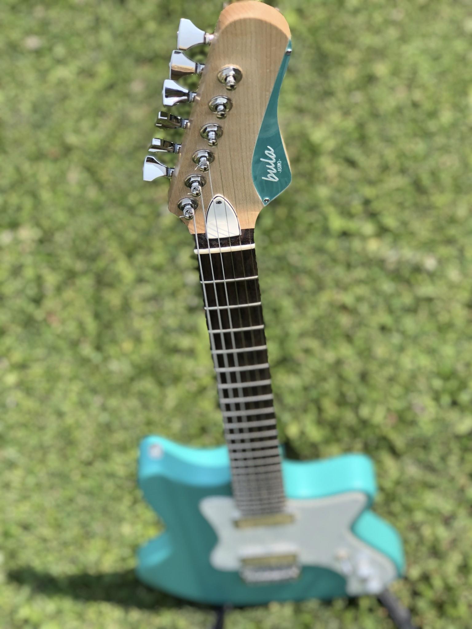 Bula Custom Guitars - Astro - Satin Sea Green-6