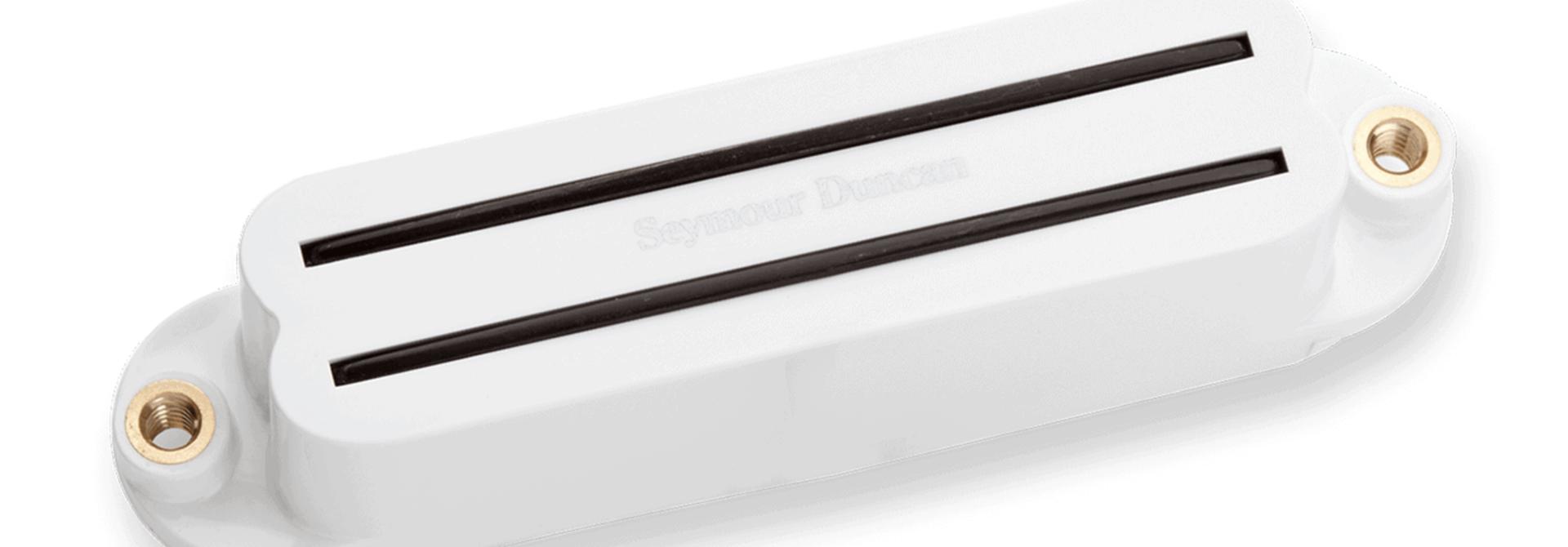 Seymour Duncan Hot Rails for Strat White SHR-1b Bridge
