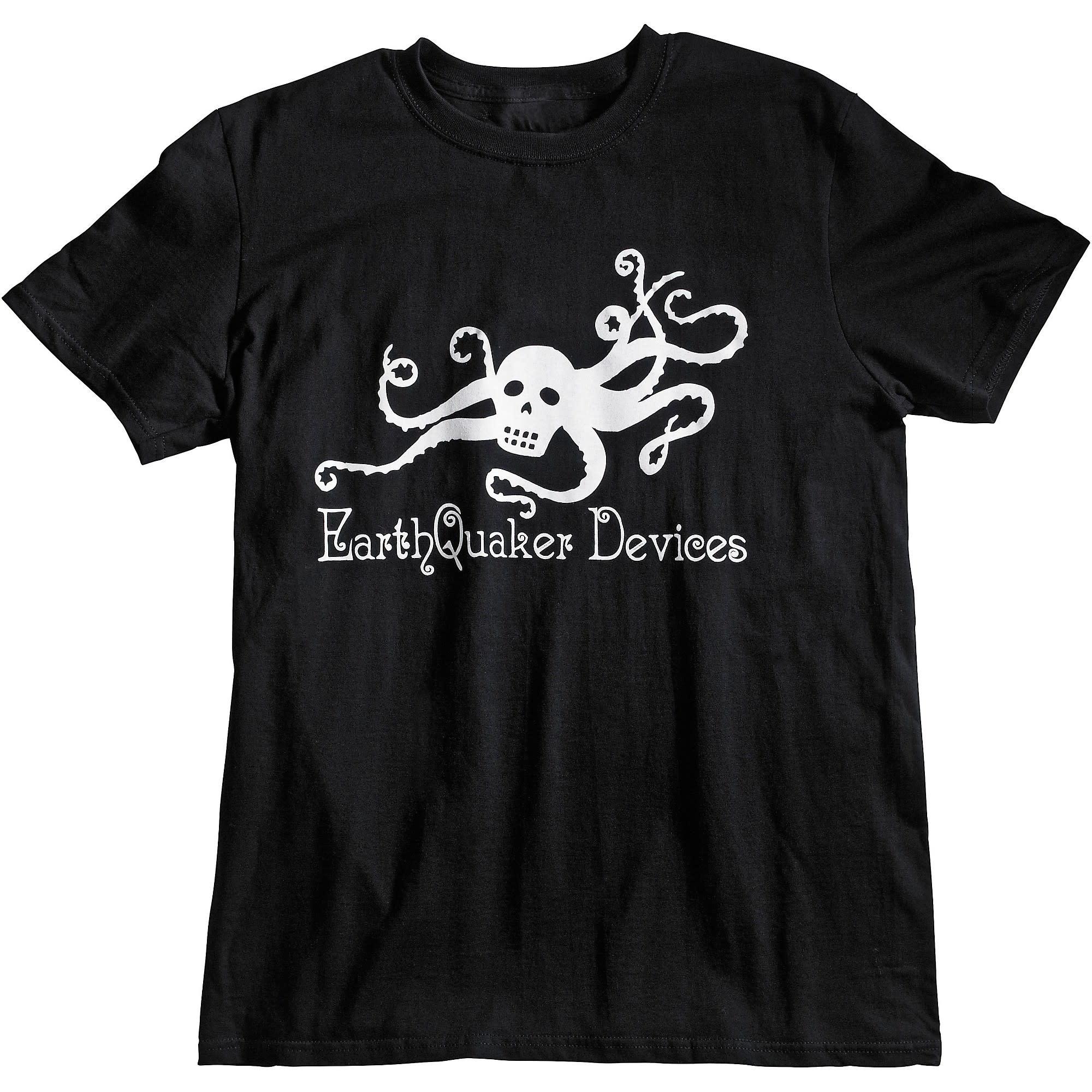 Earthquaker Devices Octoskull Logo T-shirt-6
