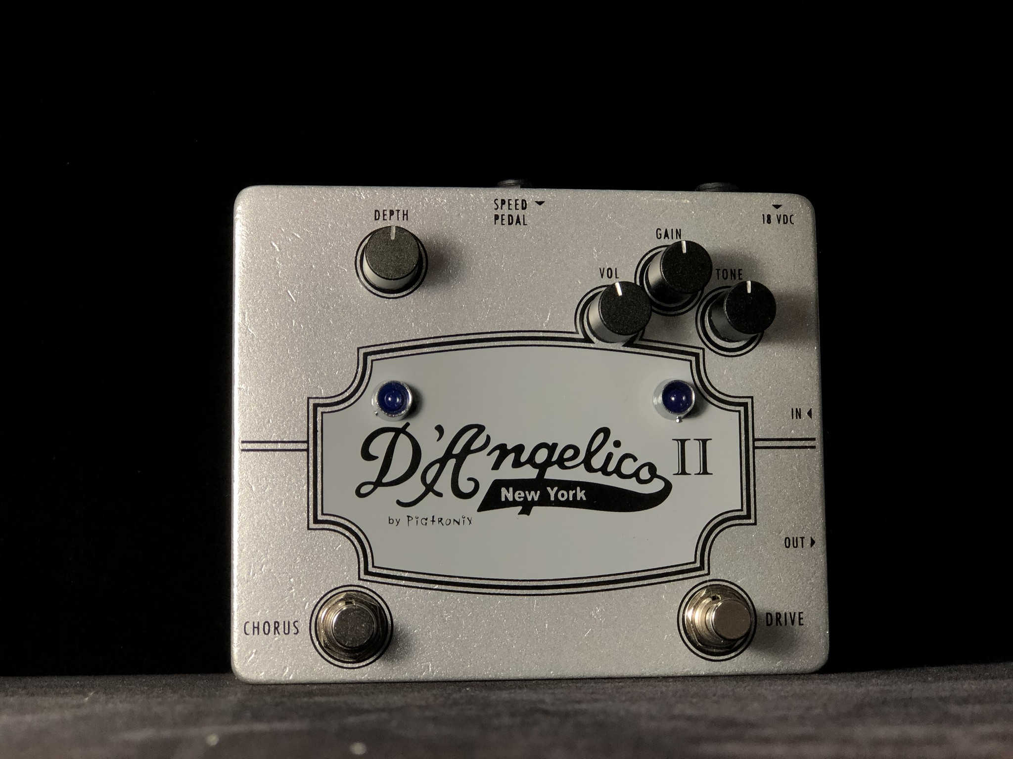 Pigtronix D'Angelico II Chorus & Drive Pedal-1