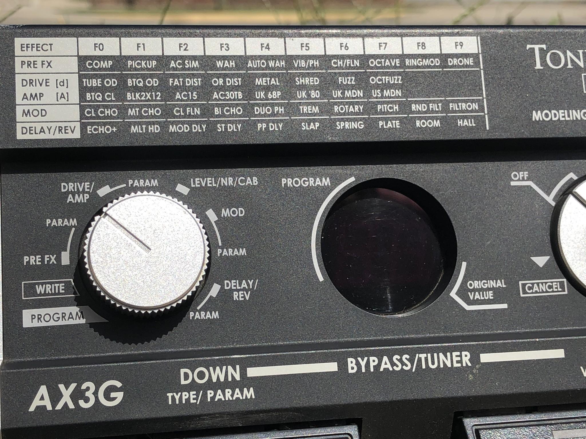 Korg ToneWorks AX3G-3