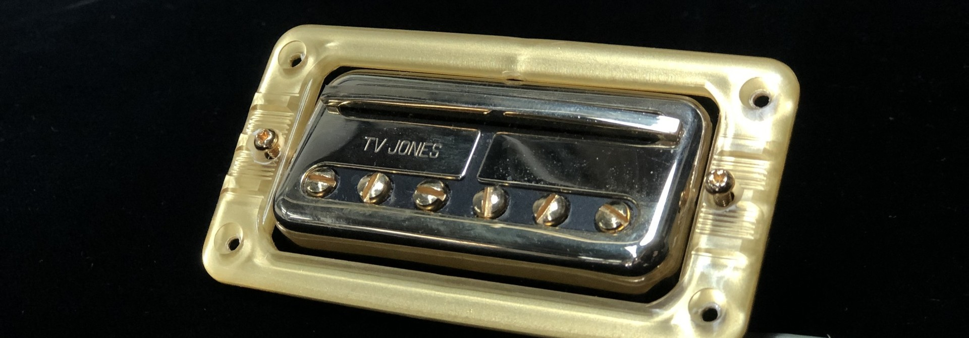 TV Jones DA Tron bridge pickup