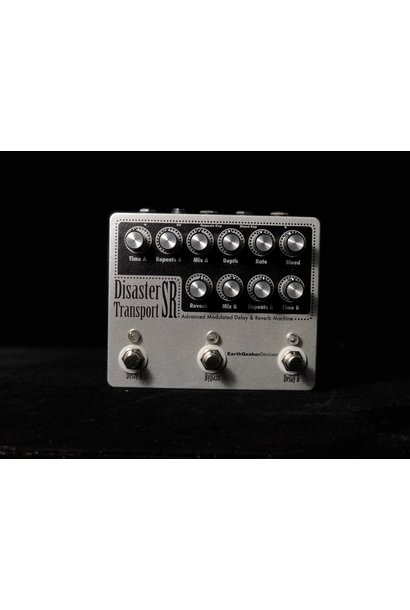 Earthquaker Devices Disaster Transport SR - Advanced Modulated Delay & Reverb Machine