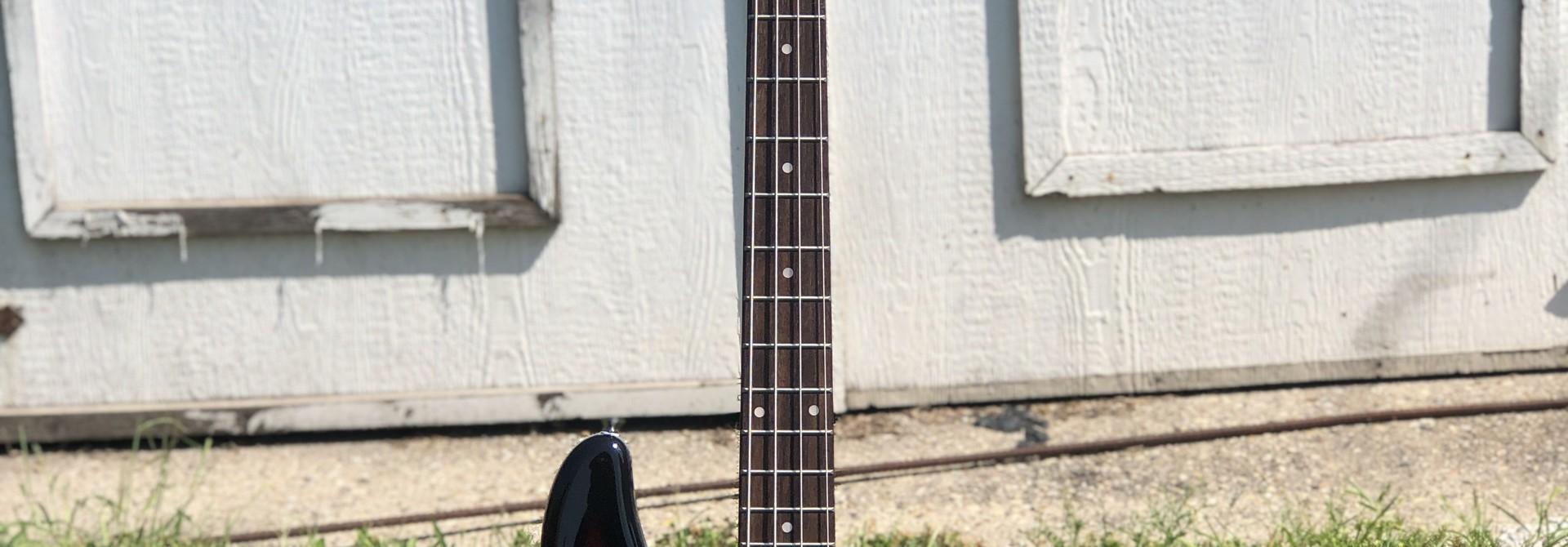 Nashville Guitar Works Sunburst Electric P Bass