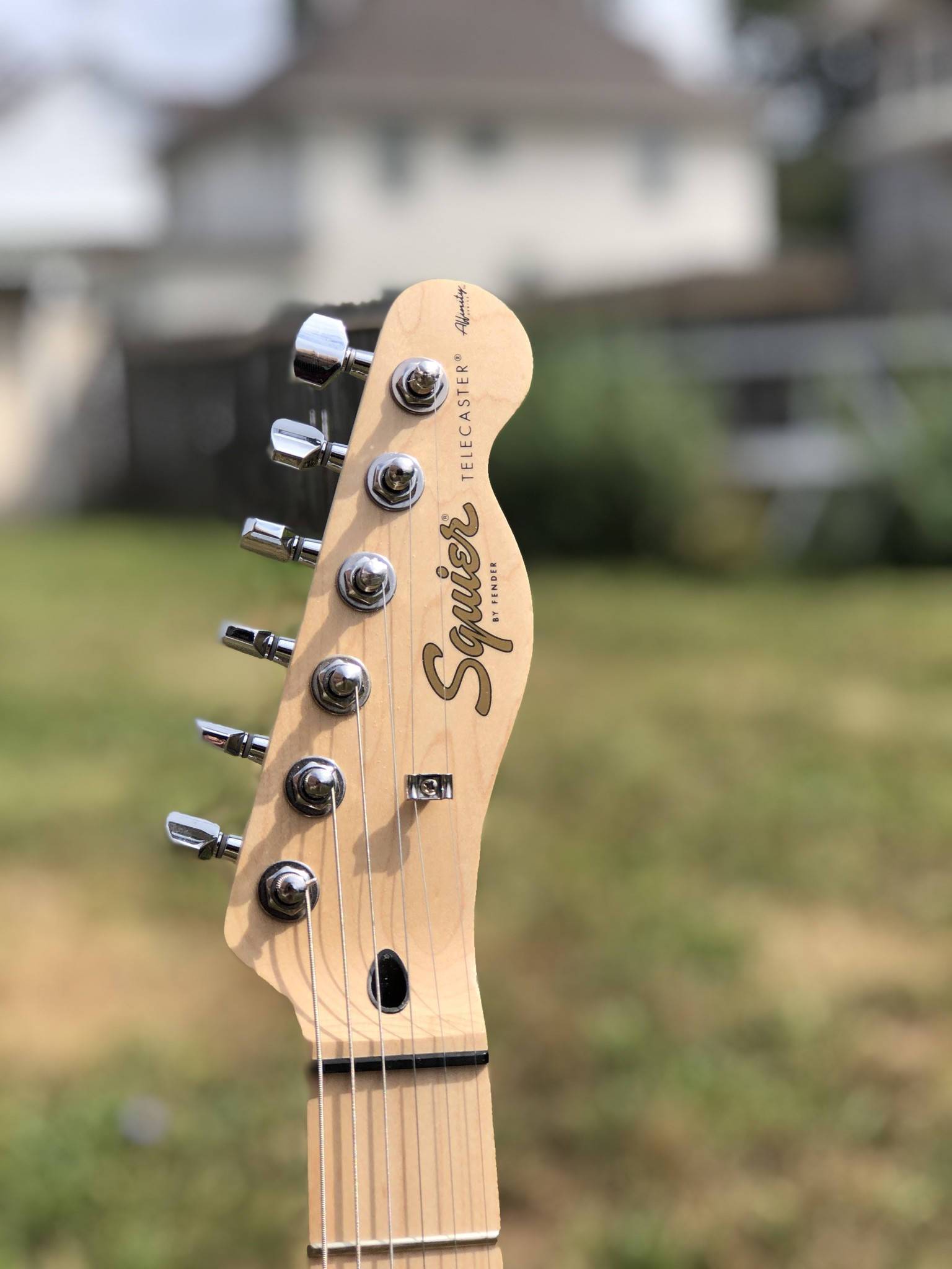 Squier Affinity Telecater - Butterscotch-4