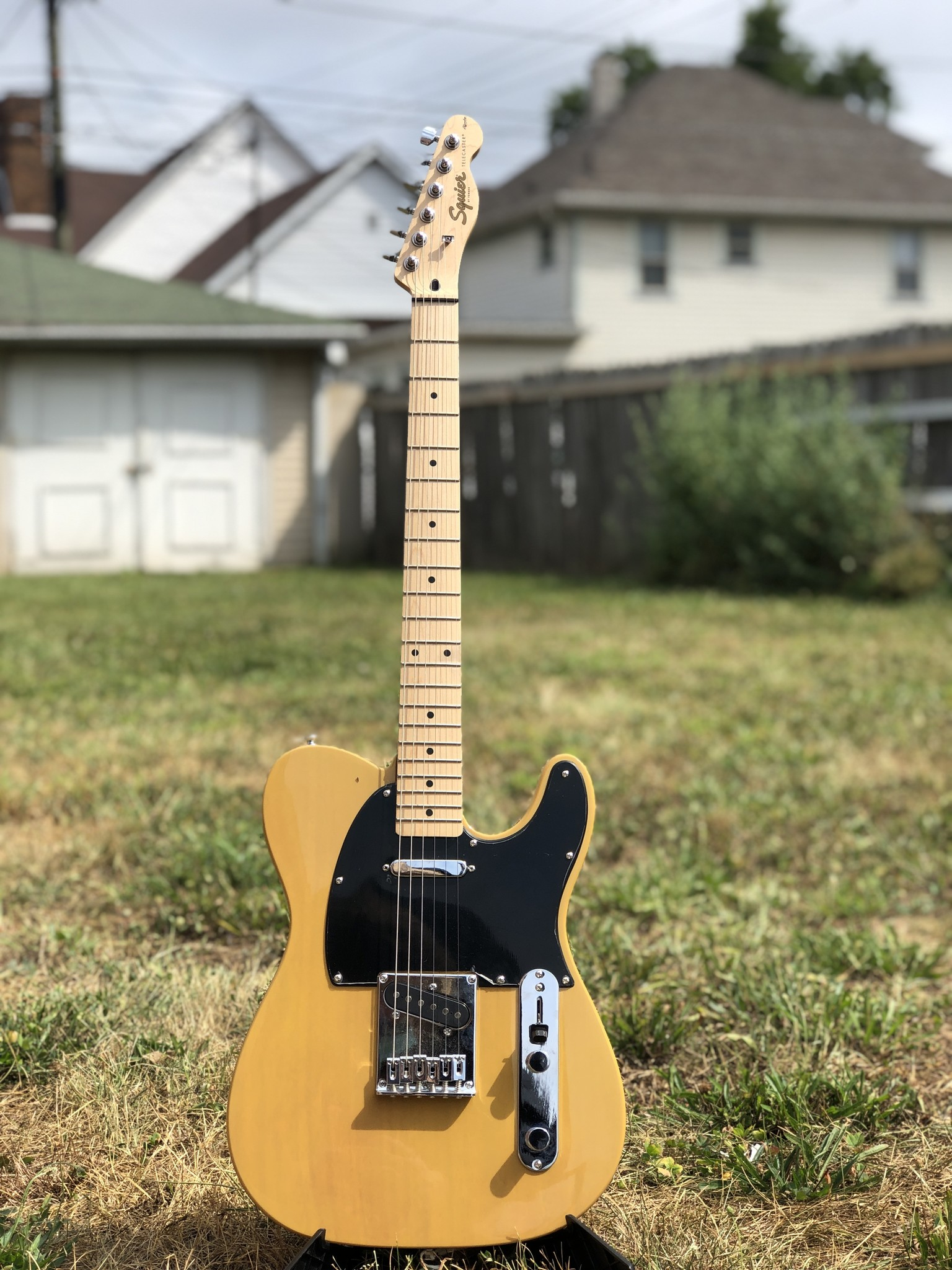 Squier Affinity Telecater - Butterscotch-1