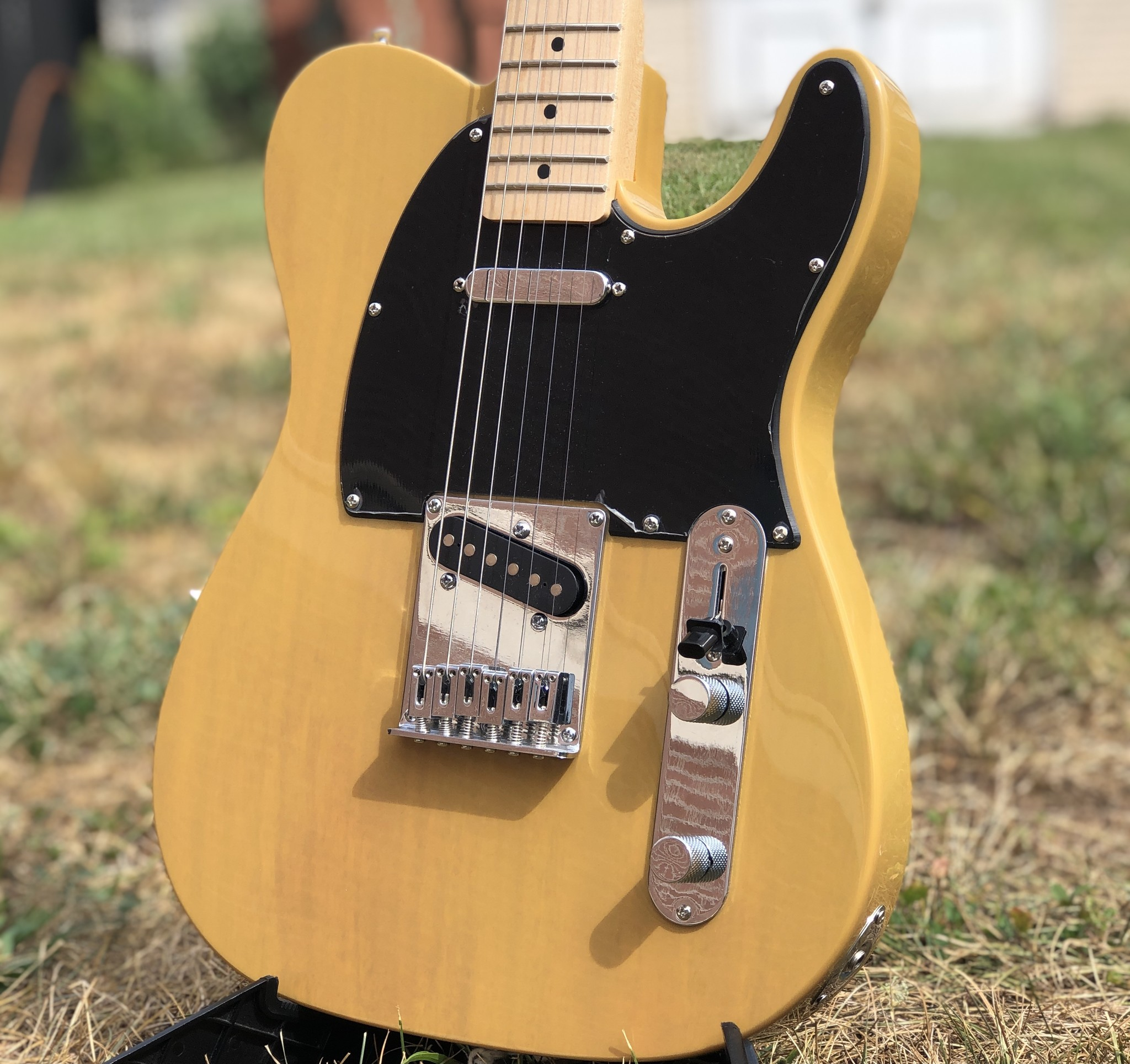 Squier Affinity Telecater - Butterscotch-3