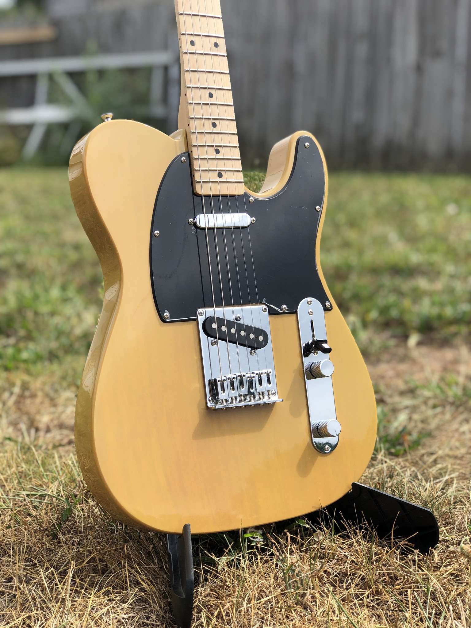 Squier Affinity Telecater - Butterscotch-2