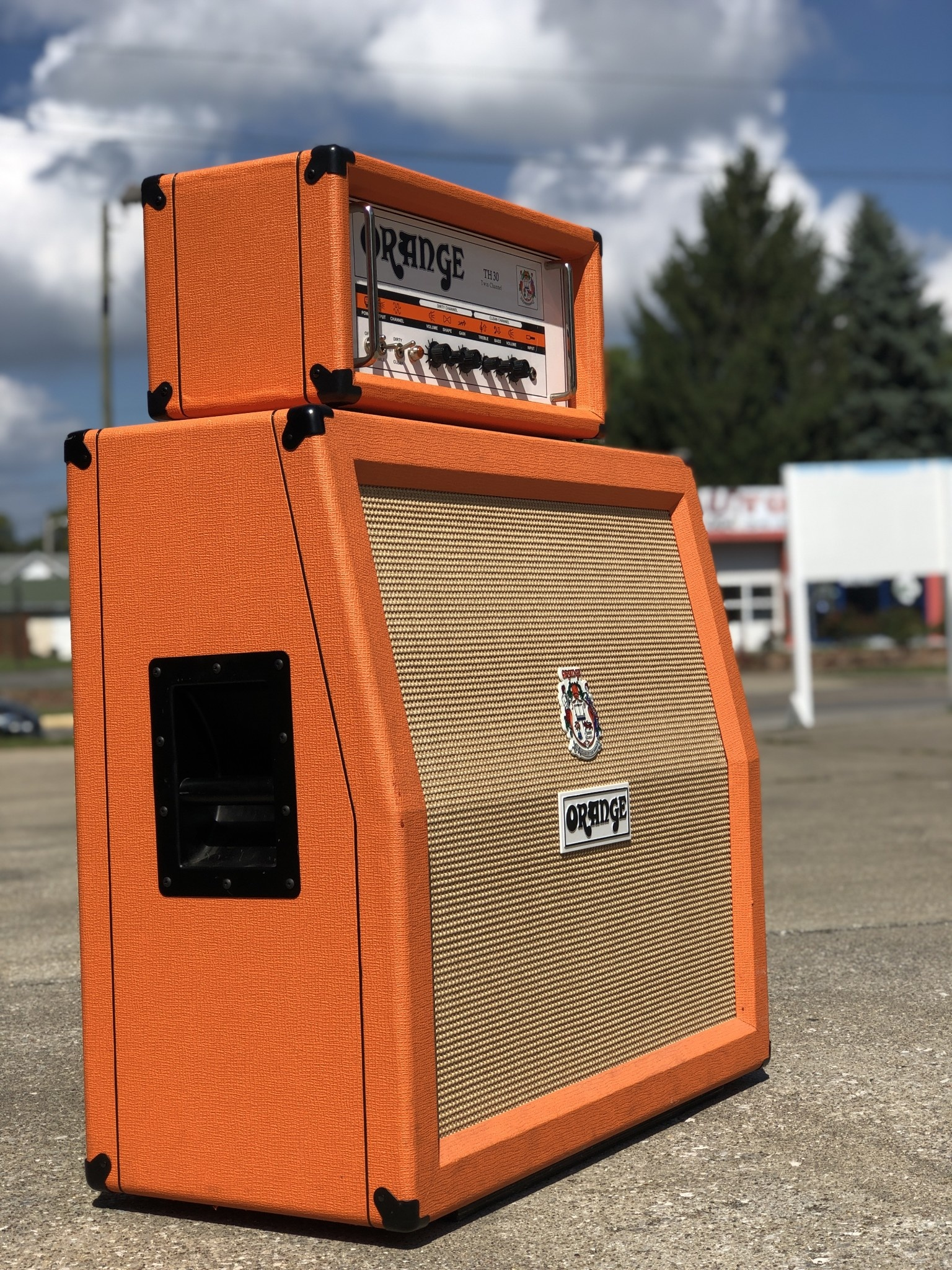 Orange PPC 4x12 Angled 16ohm Cab-2