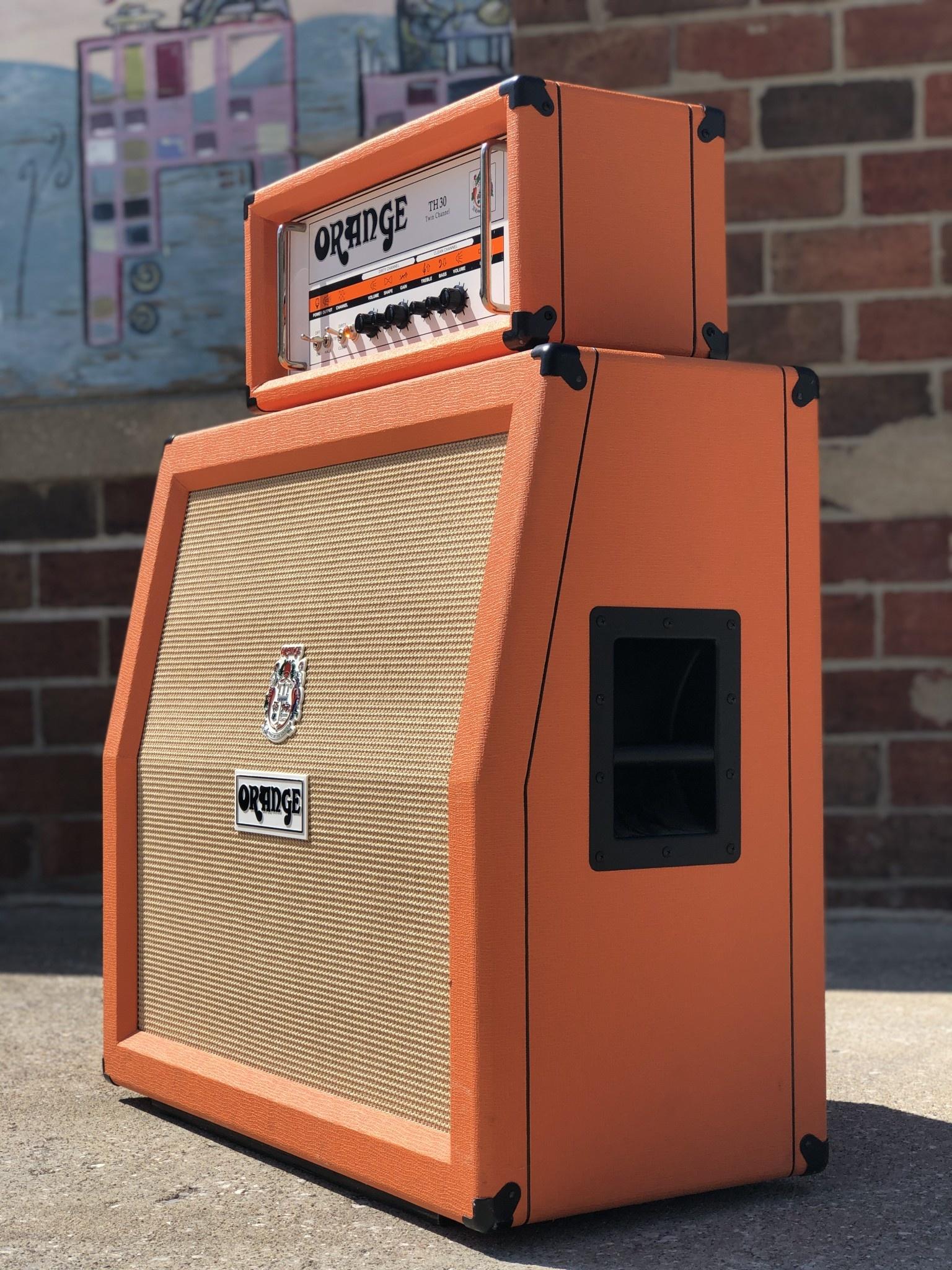 Orange PPC 4x12 Angled 16ohm Cab-4