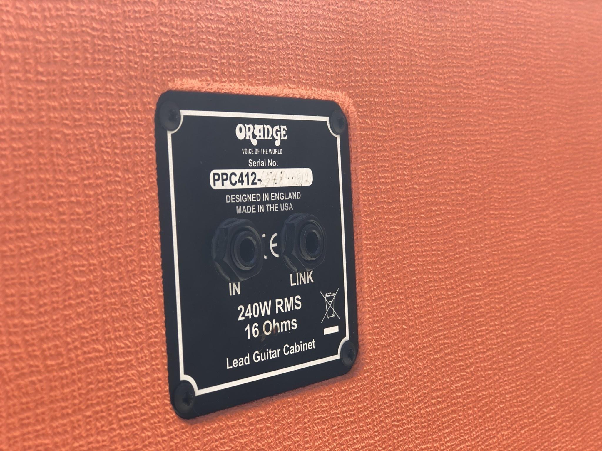 Orange PPC 4x12 Angled 16ohm Cab-6