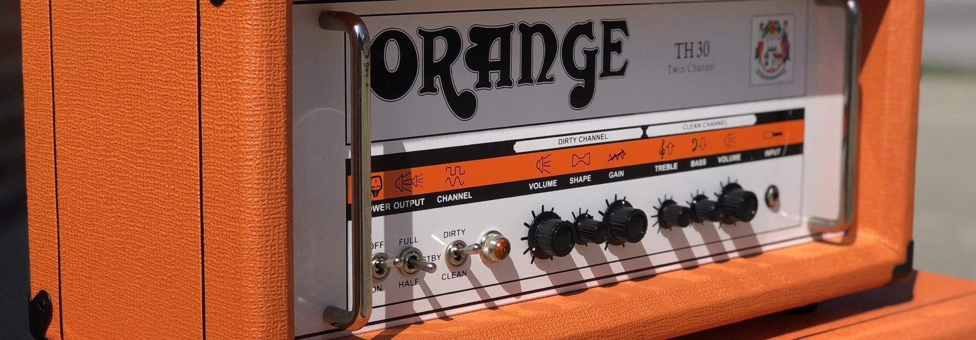 Orange TH30 Twin Channel 30-watt Amp Head