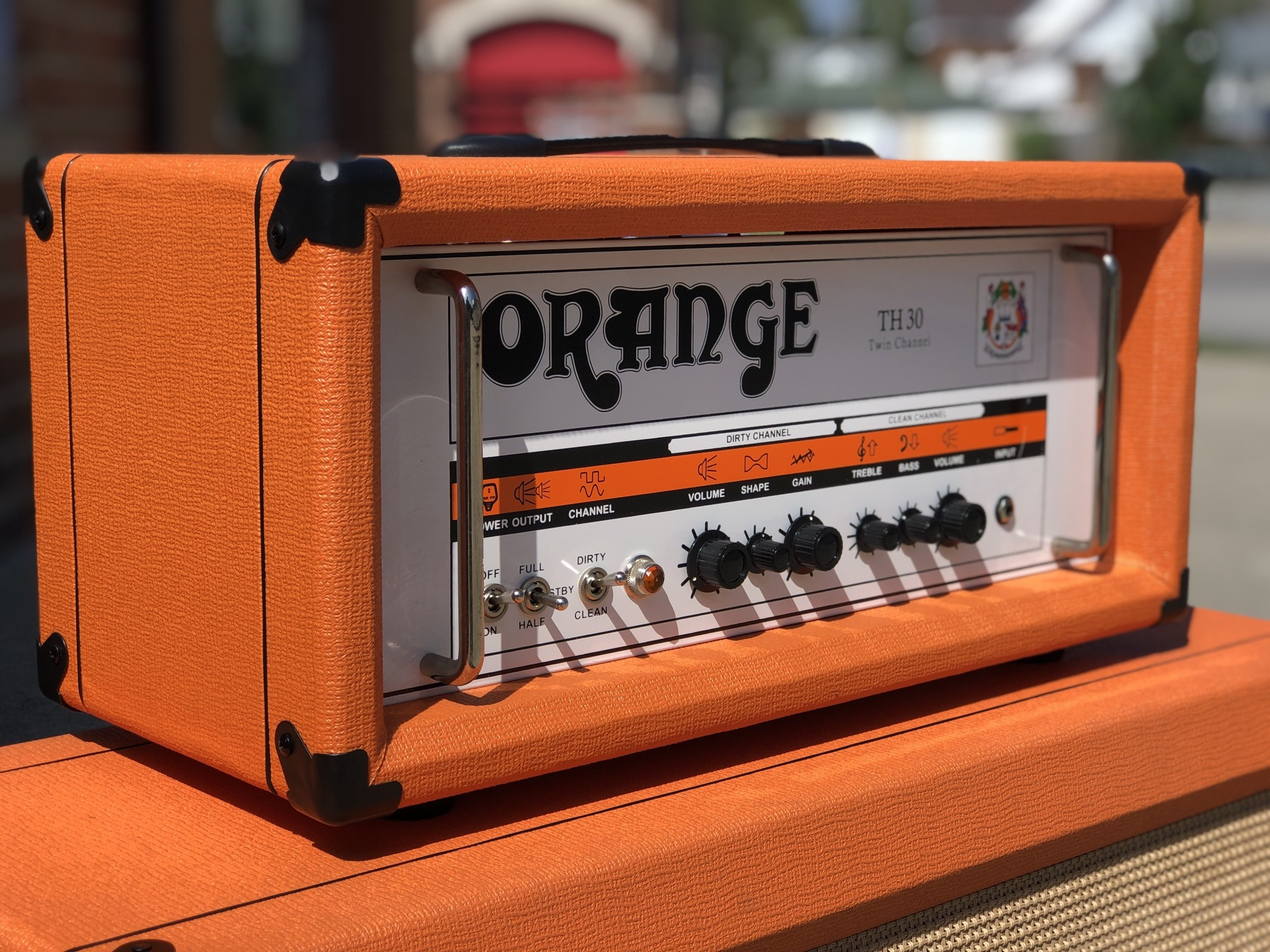 Orange TH30 Twin Channel 30-watt Amp Head-1
