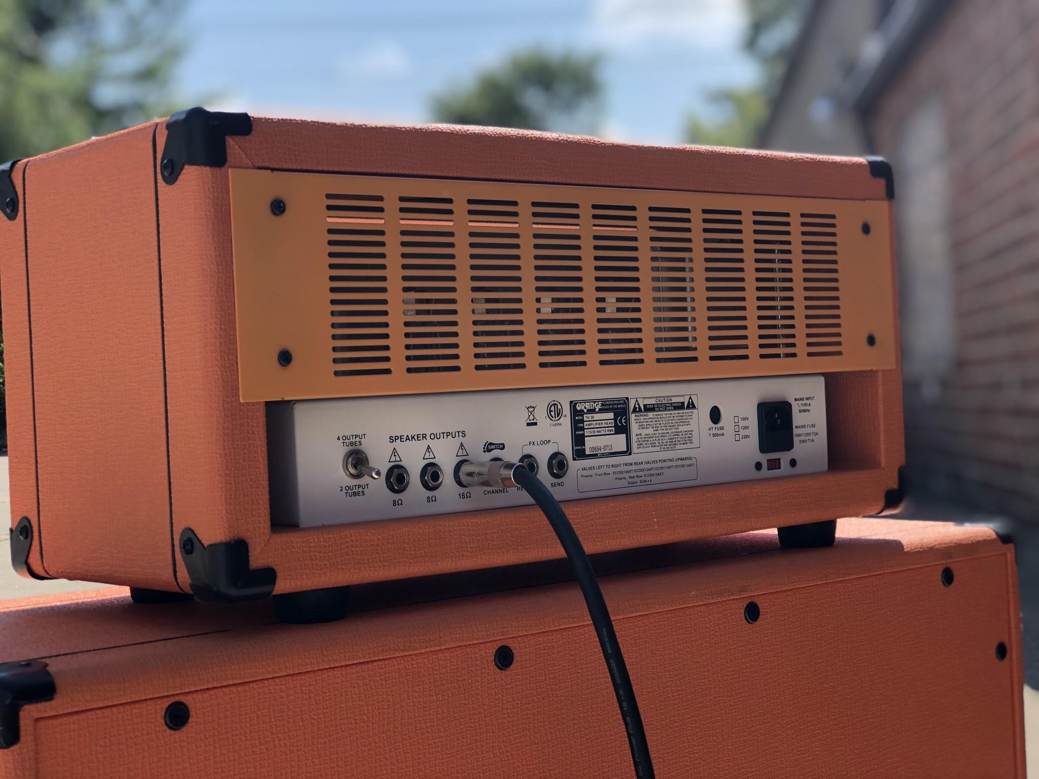 Orange TH30 Twin Channel 30-watt Amp Head-2