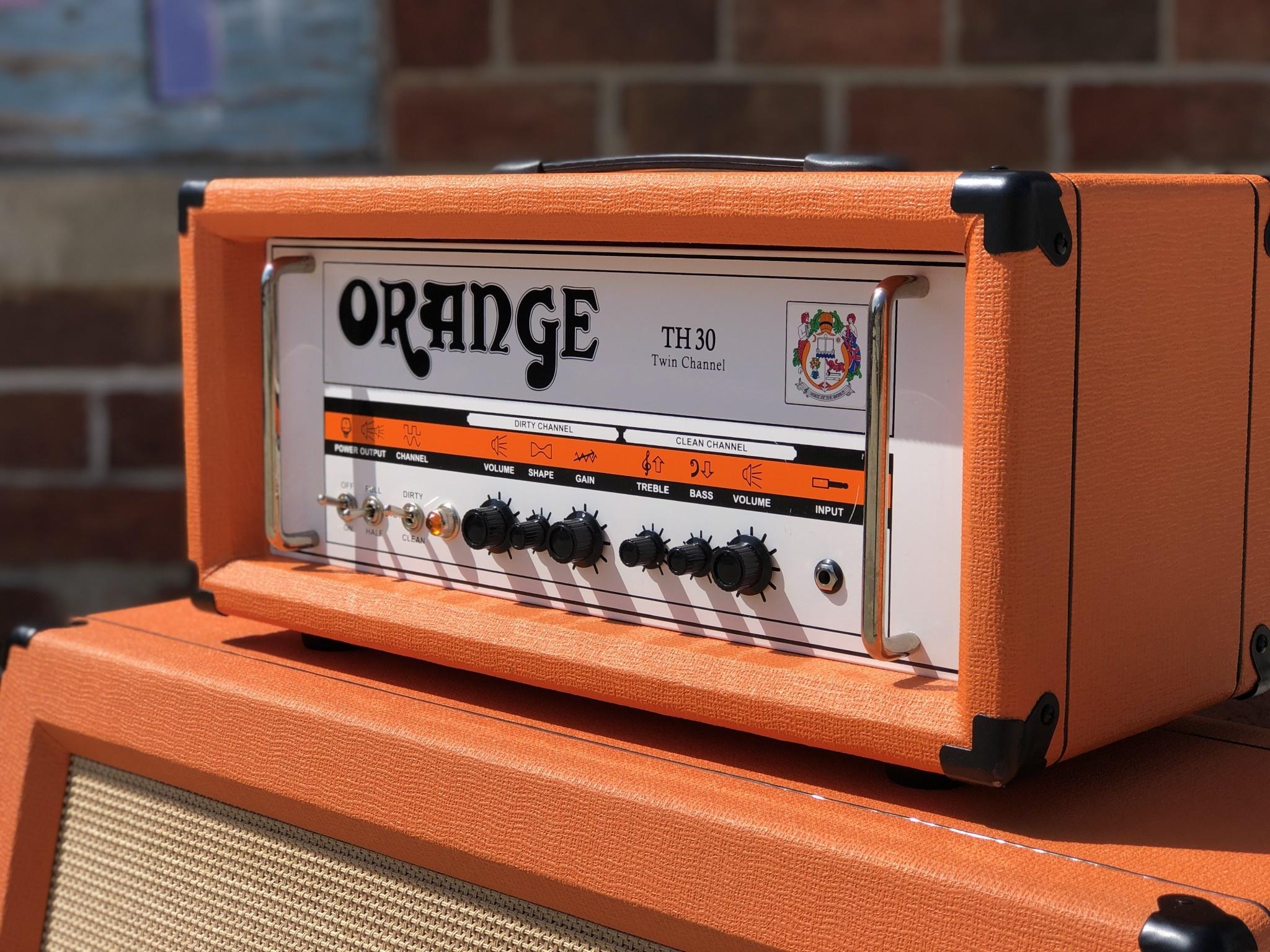 Orange TH30 Twin Channel 30-watt Amp Head-4