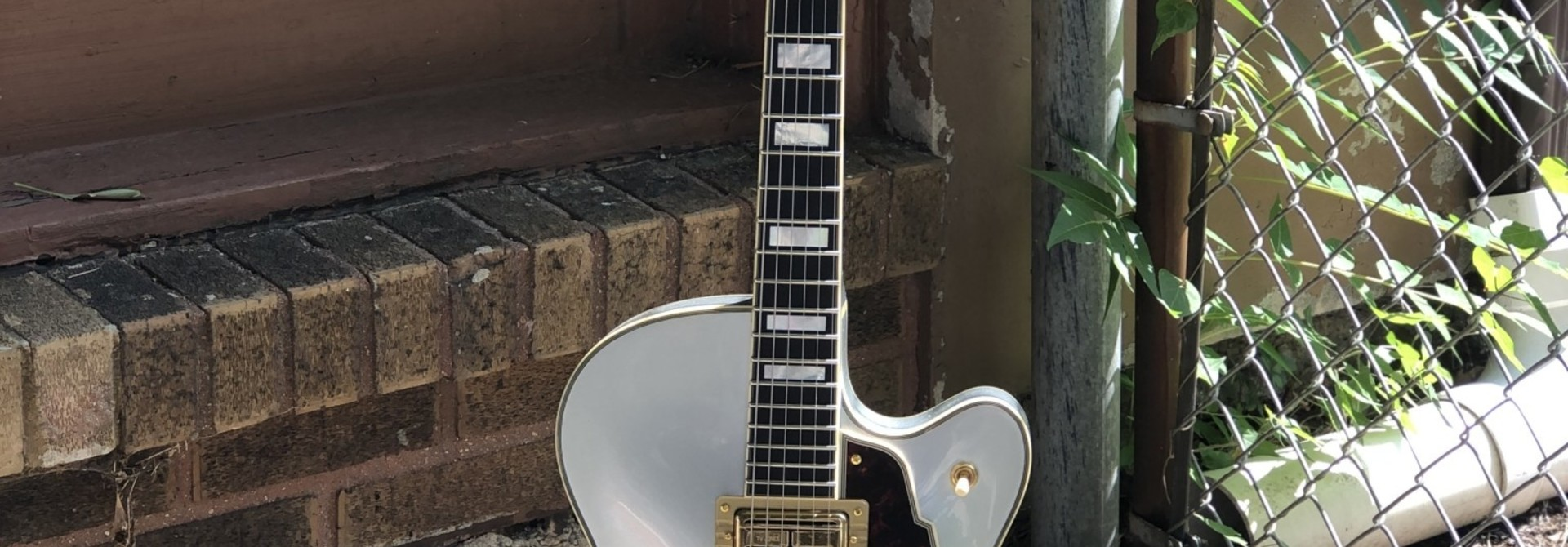 D'Angelico Deluxe DLX-175 Hollowbody - Silver