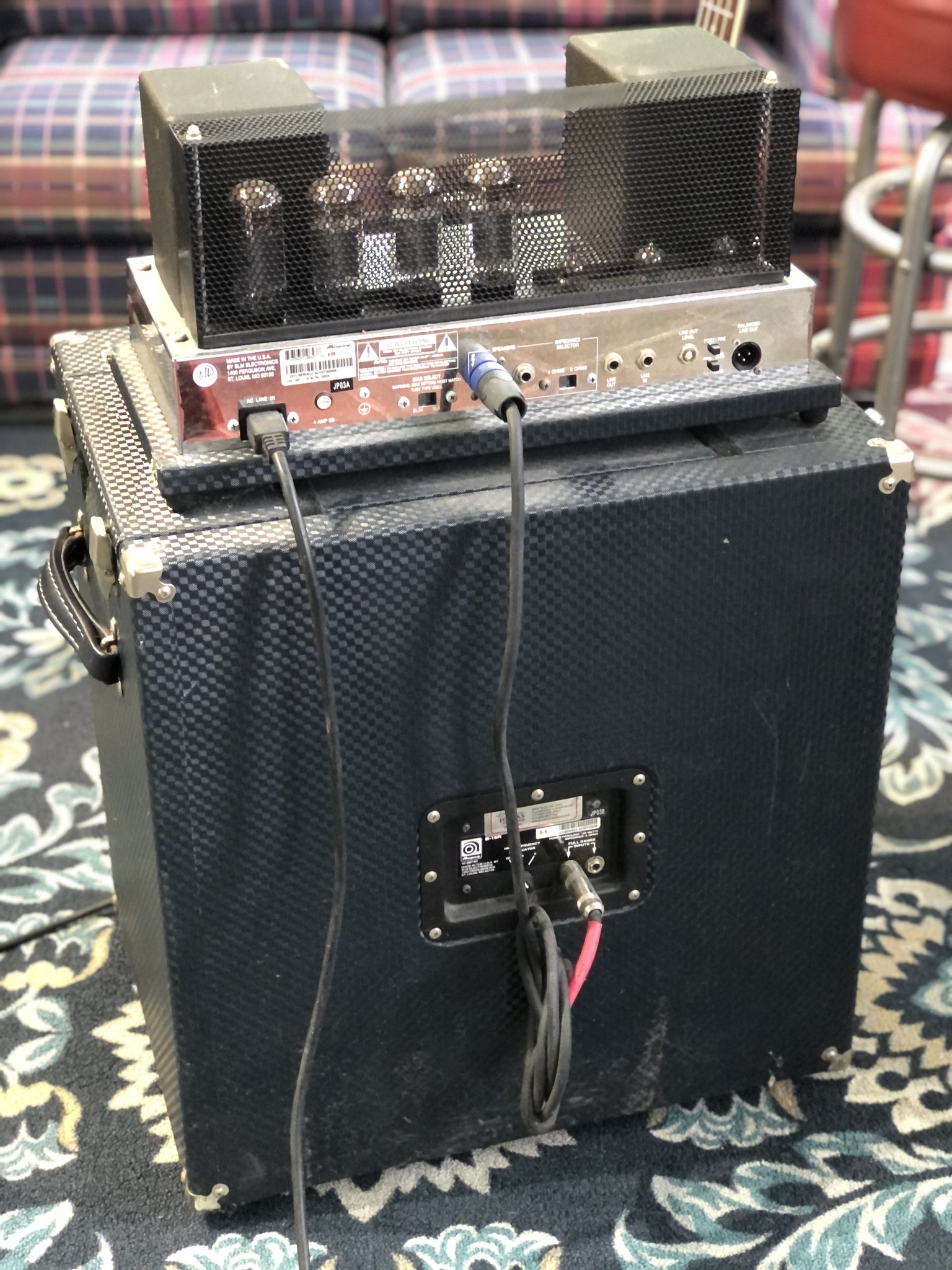 Ampeg B-15R Portaflex Amp and Cabinet-8
