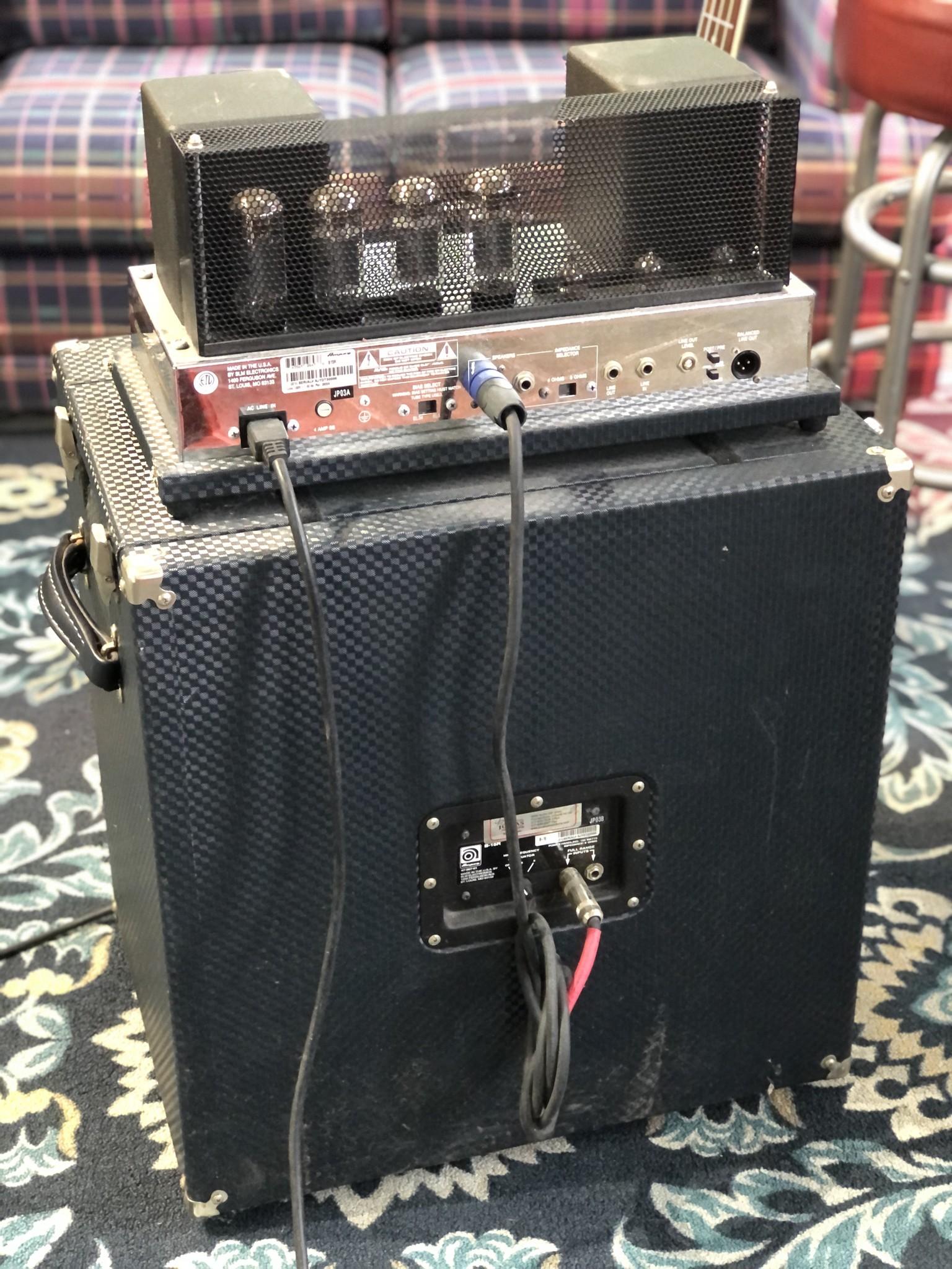 Ampeg B-15R Portaflex Amp and Cabinet-9