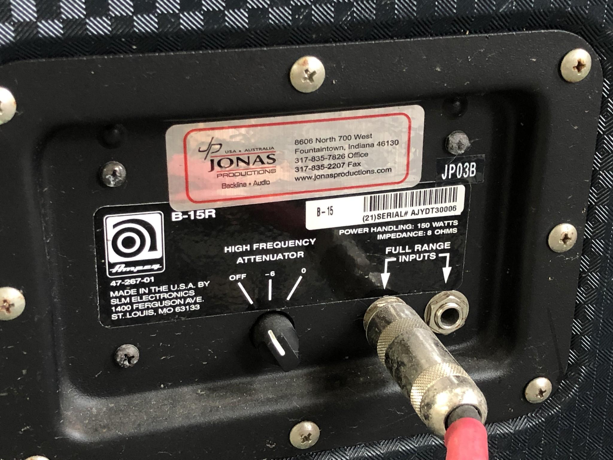Ampeg B-15R Portaflex Amp and Cabinet-10