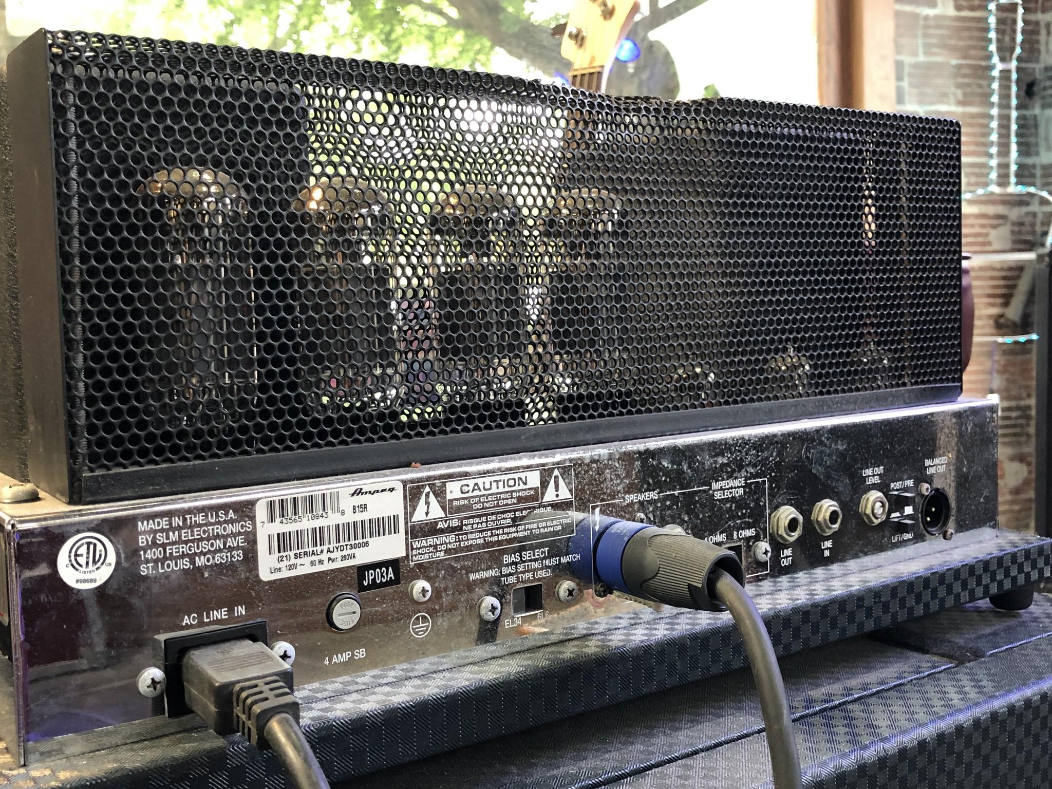 Ampeg B-15R Portaflex Amp and Cabinet-12