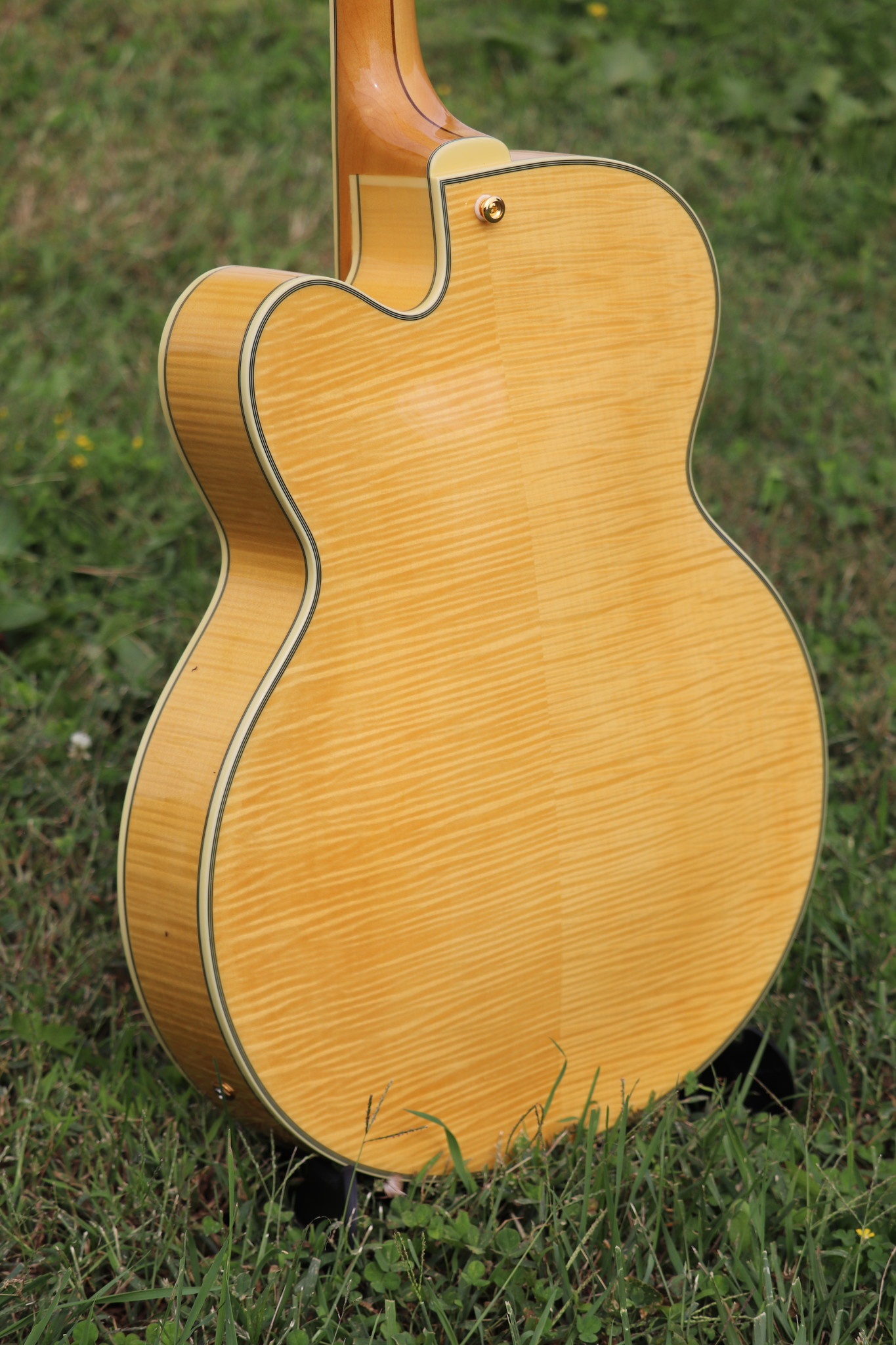 D'Angelico Excel EX-59 Hollowbody - Natural-11