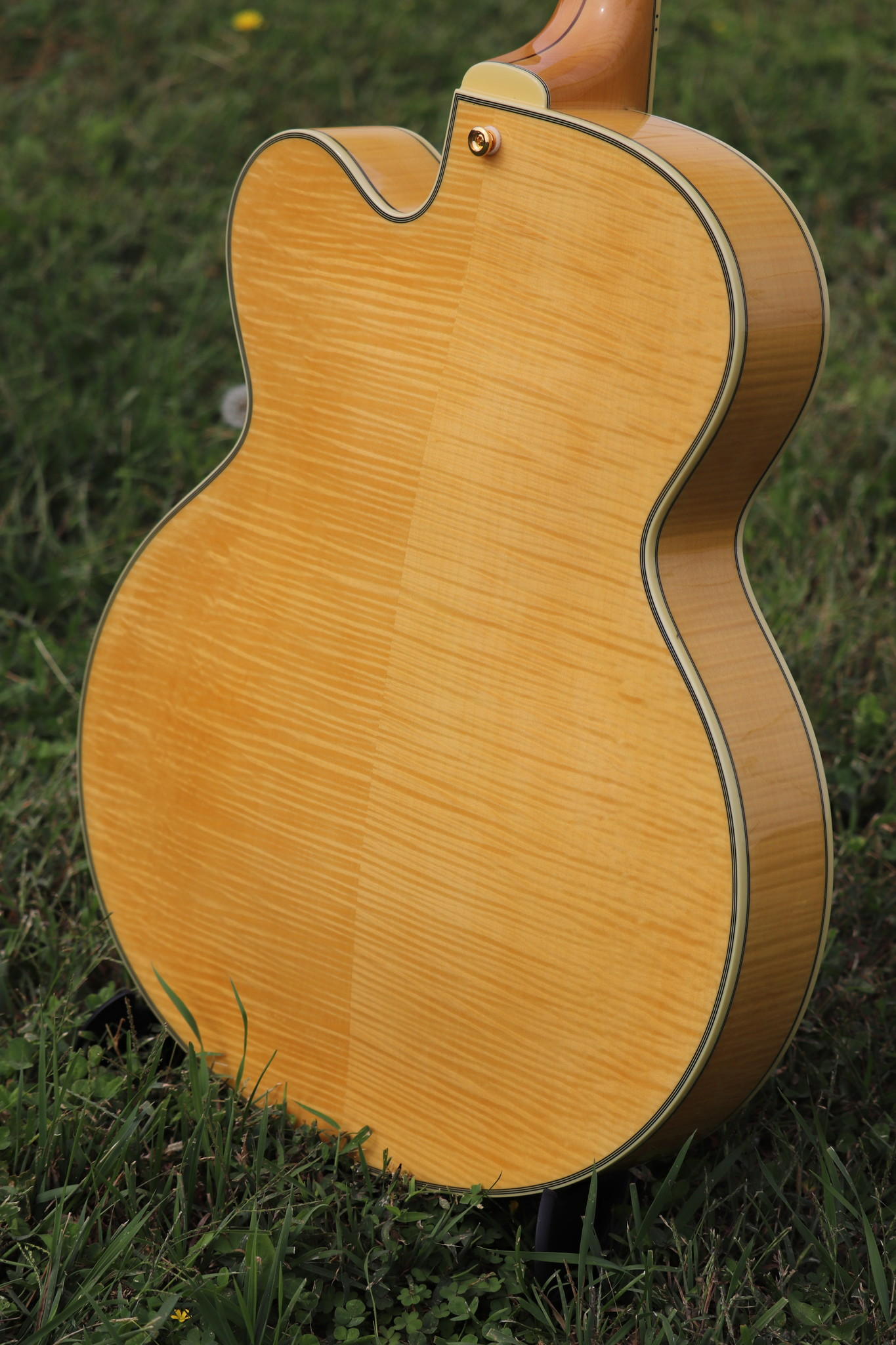 D'Angelico Excel EX-59 Hollowbody - Natural-12