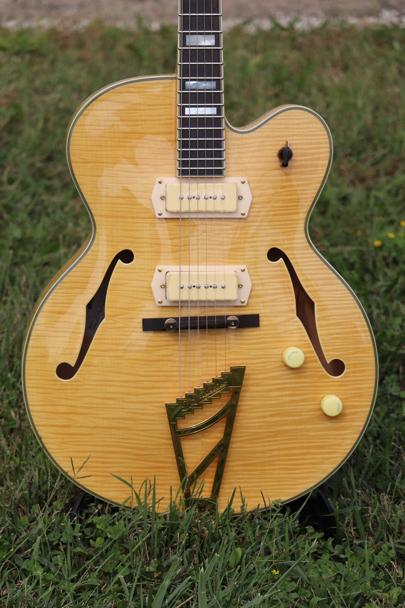 D'Angelico Excel EX-59 Hollowbody - Natural-3