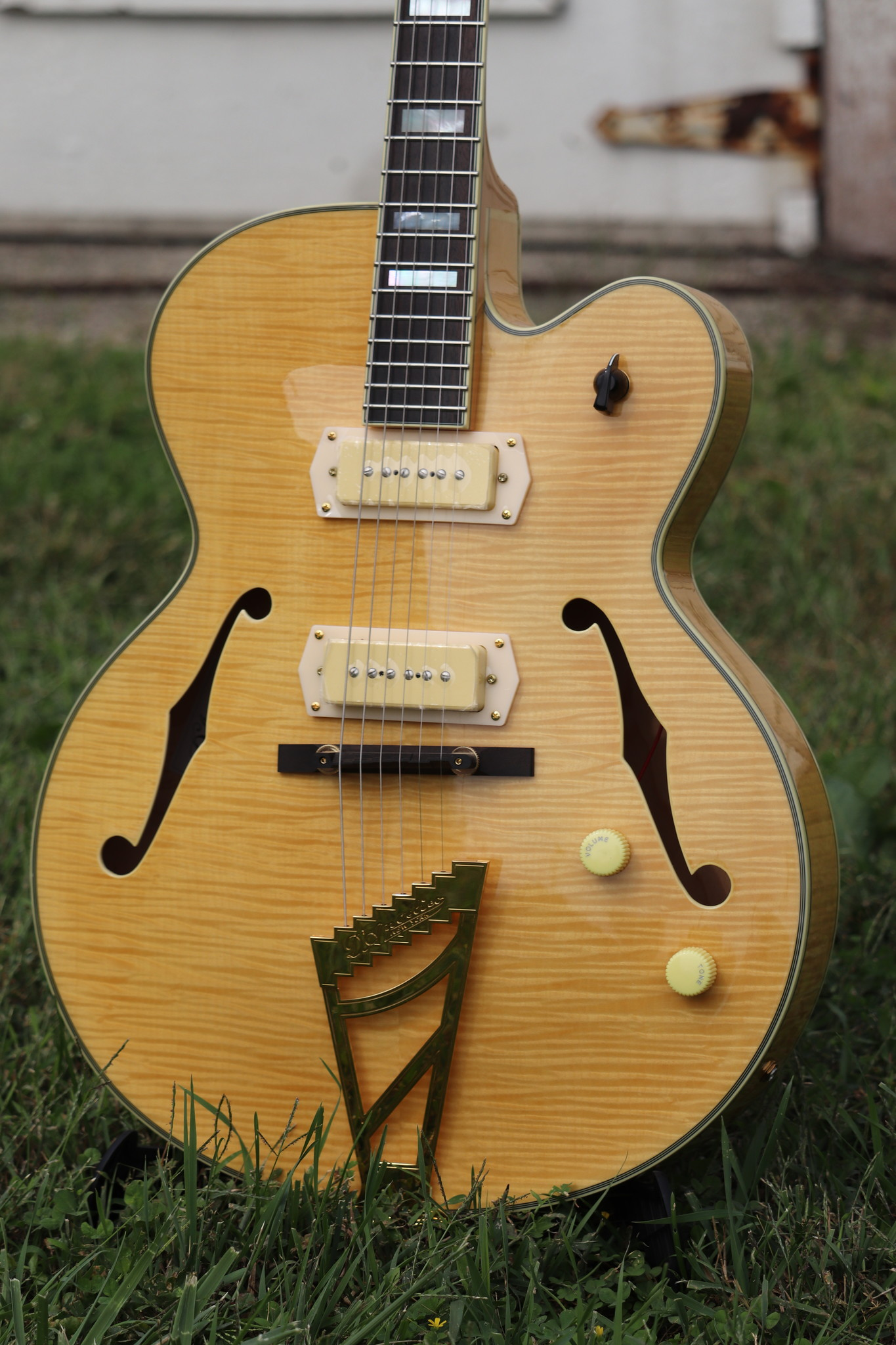 D'Angelico Excel EX-59 Hollowbody - Natural-4