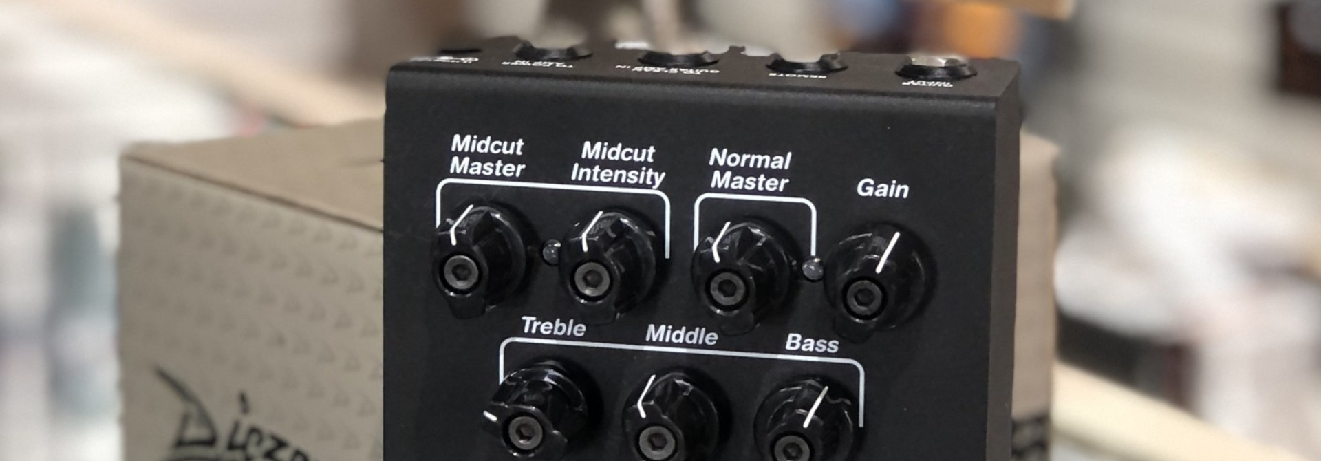 Diezel Herbert 2-Channel Overdrive and Preamp Pedal