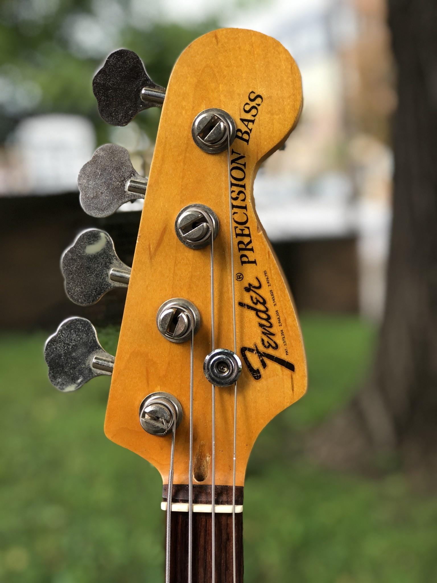 Fender Precision Parts Bass black-3