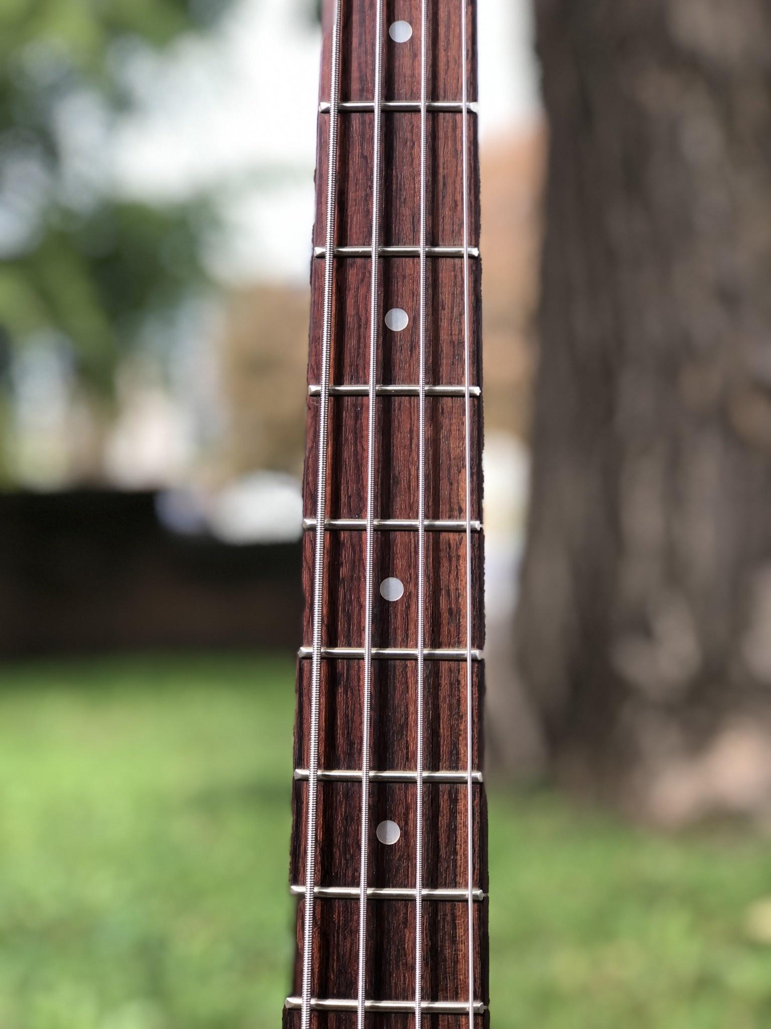 Fender Precision Parts Bass black-4