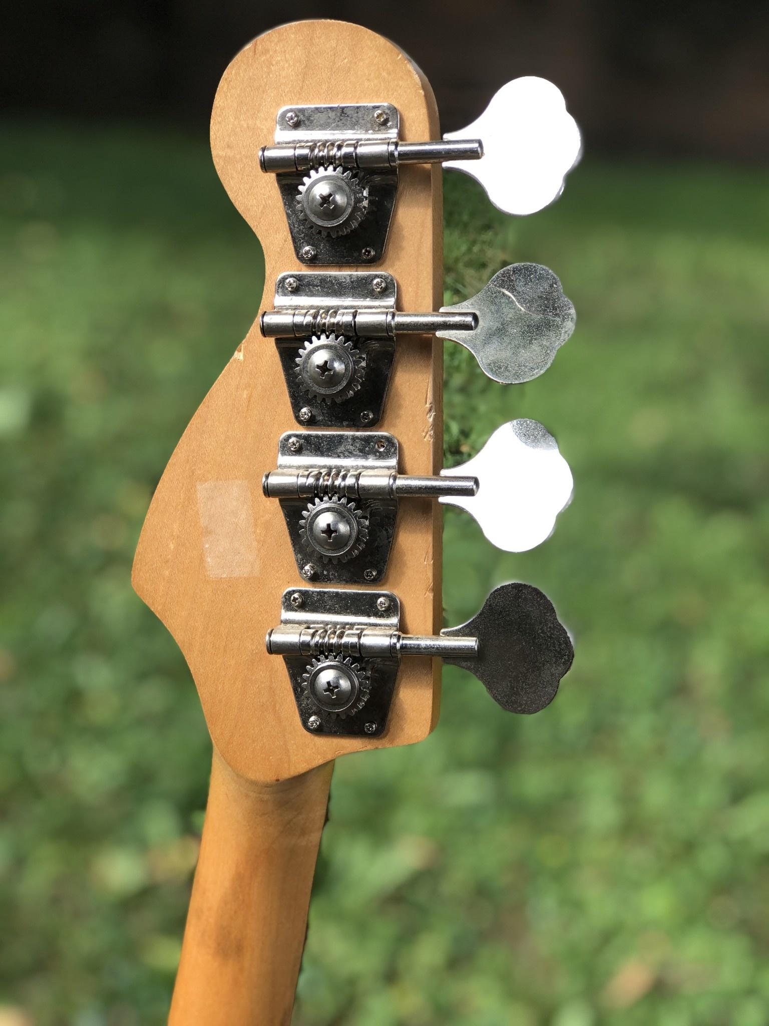 Fender Precision Parts Bass black-7